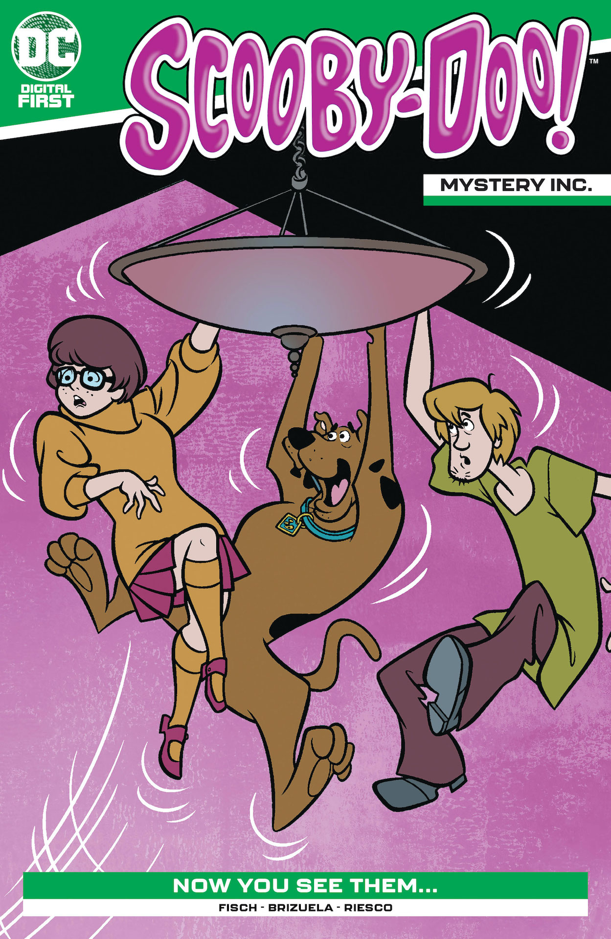 One by one, the members of the Scooby gang are disappearing! Can Scooby solve the mystery alone?