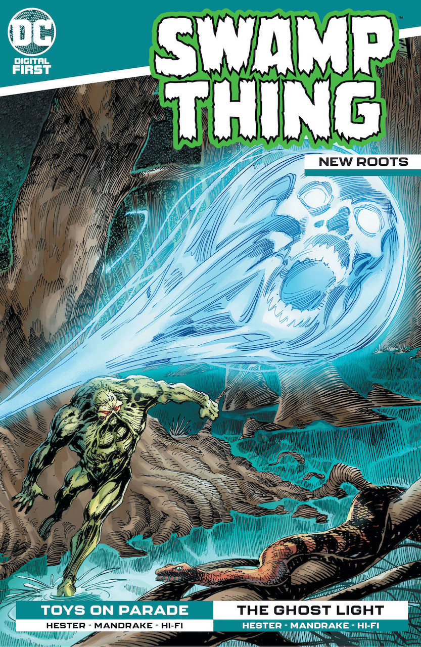 DC Preview: Swamp Thing: New Roots #8