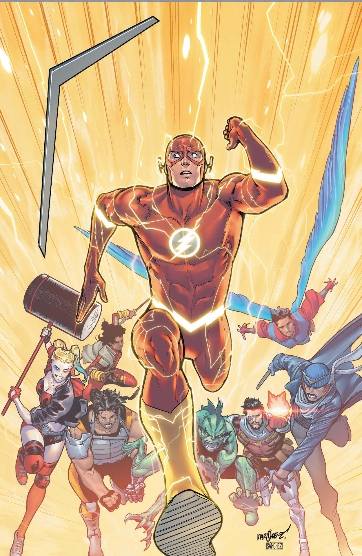 The Flash Annual features the Suicide Squad, Task Force X and Captain Boomerang and the Flash is in hot pursuit!