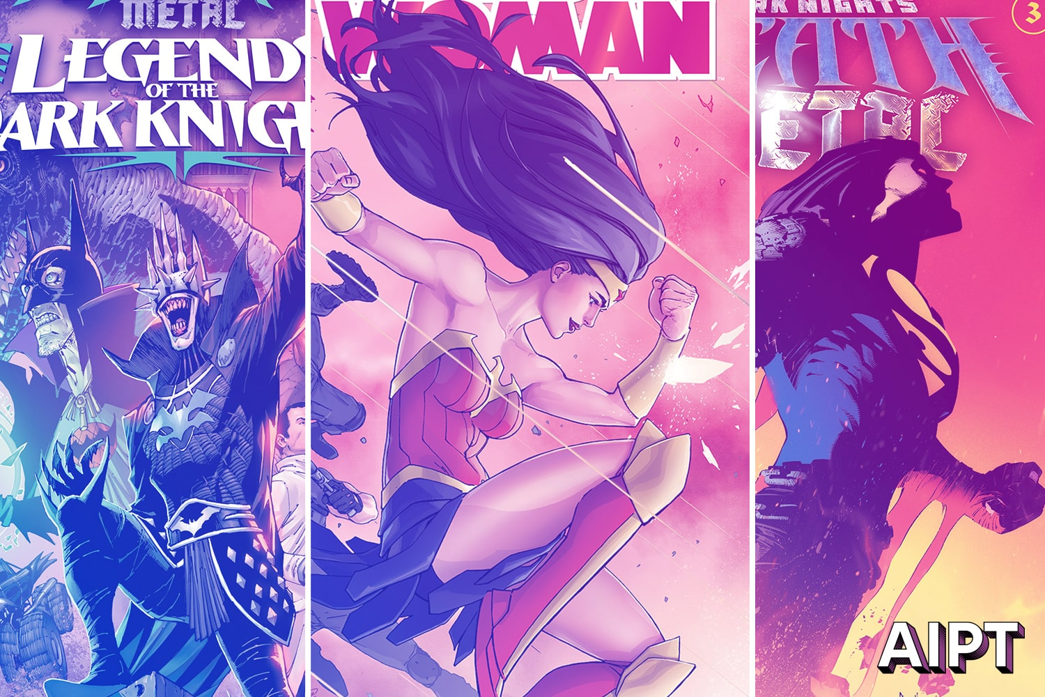 'Wonder Woman' and two 'Dark Nights: Death Metal' to get 2nd printings