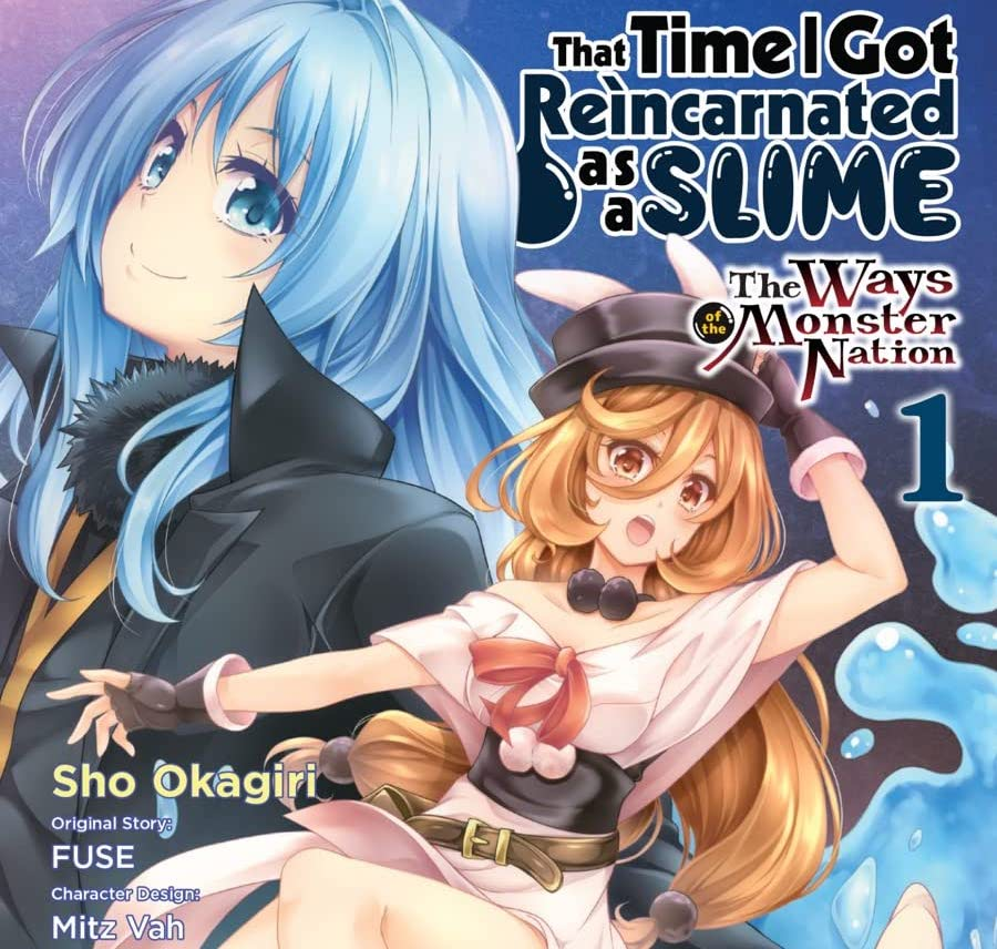 Yen Press debuts 'That Time I Got Reincarnated as a Slime' spin off 'The Ways of the Monster Nation' Vol. 1