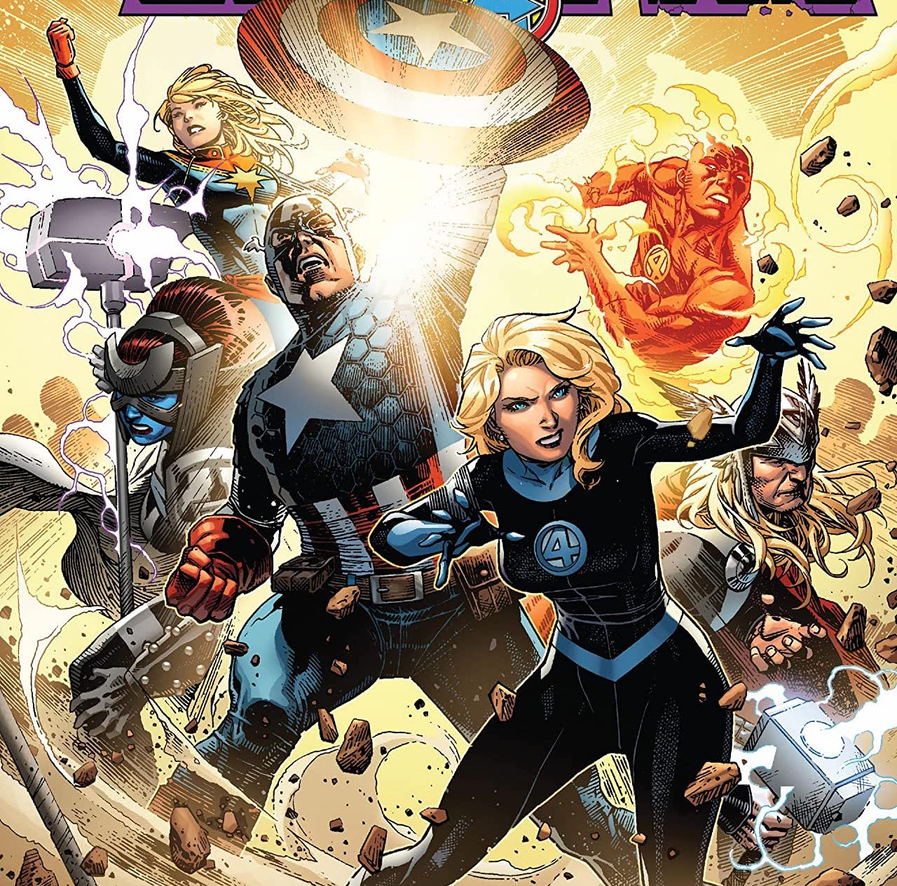 In Empyre #2, the Avengers, Fantastic Four, and Captain Marvel play key parts!