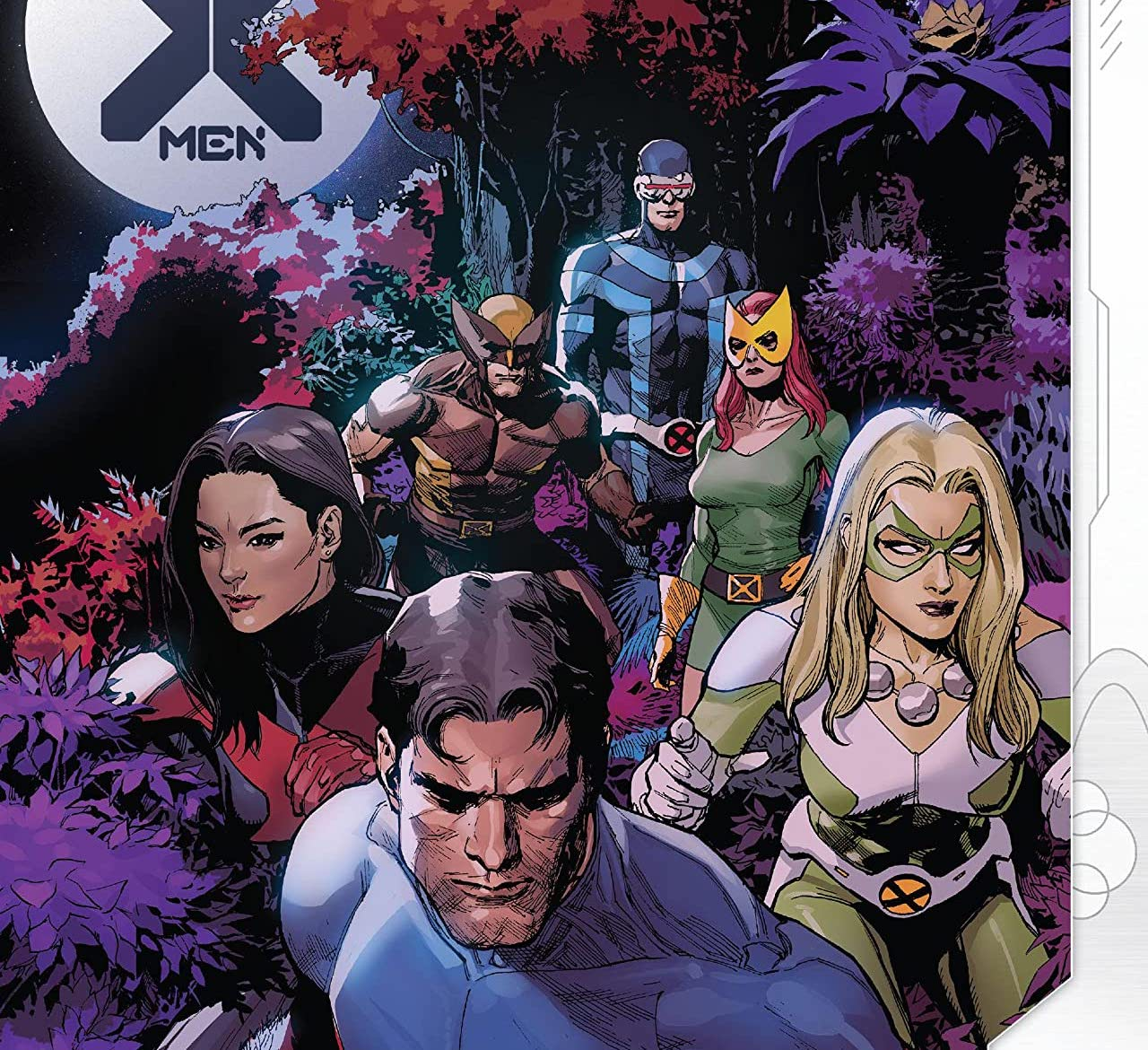 It's a nice respite on the Moon for the X-Men, but nothing can ever stay nice, can it?