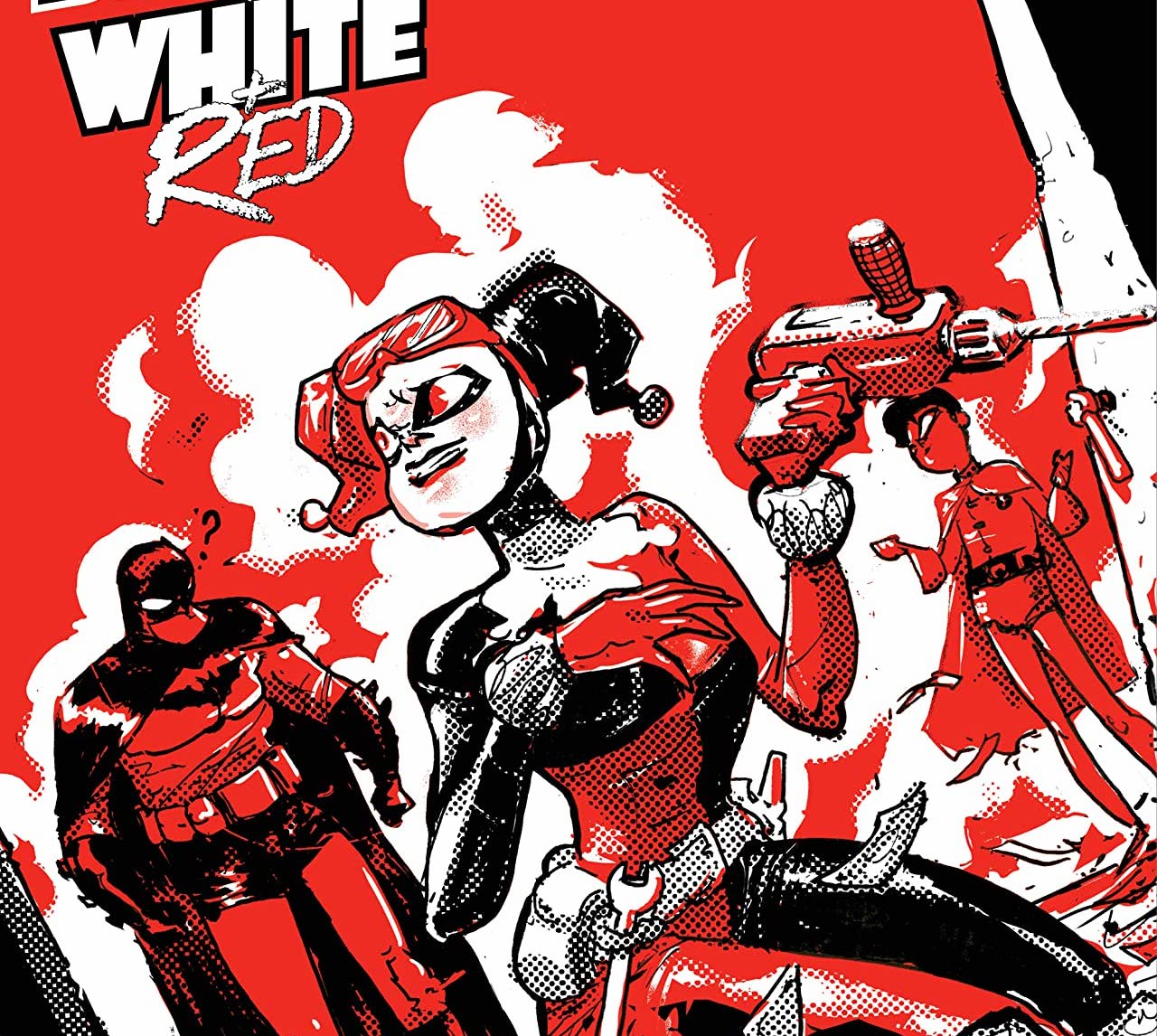 'Harley Quinn Black + White + Red' #5 is a vibrant and creative issue.