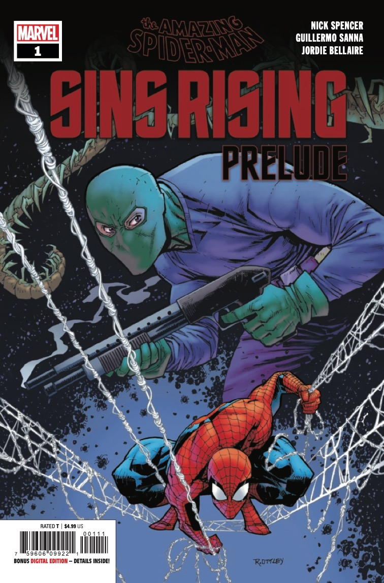 Marvel Preview: Amazing Spider-Man: Sins Rising Prelude #1