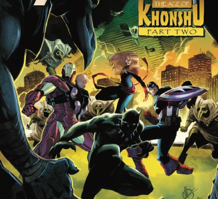 Will Moon Knight finish the job and kill all the heroes? Why is he taking over Earth? What is going on!?