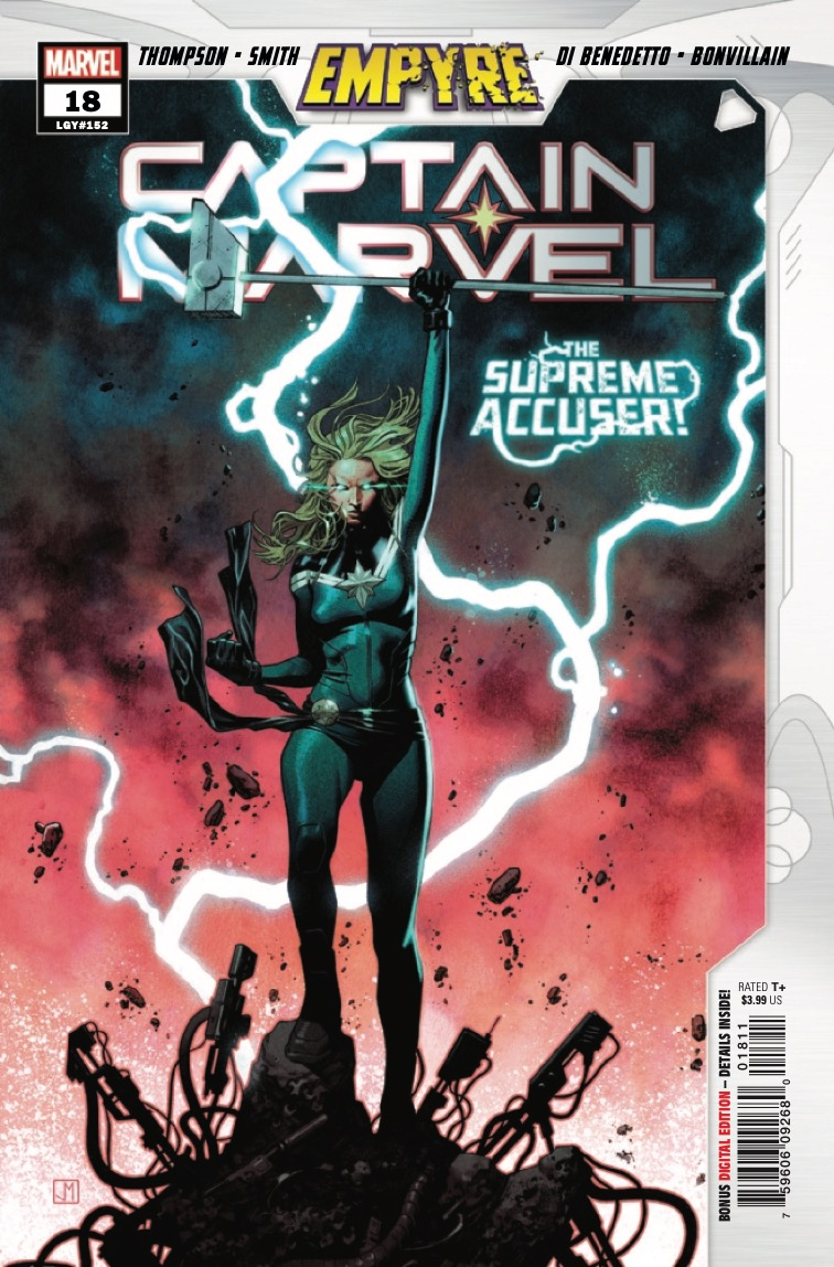 Marvel Preview: Captain Marvel #18