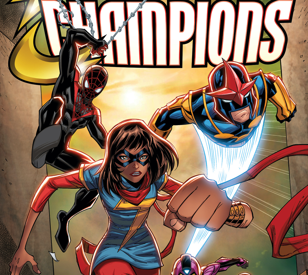 Marvel first look: Ron Lim's 'Champions' #1 variant cover