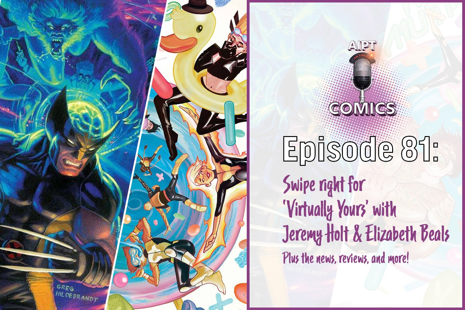 The Comics podcast interviews the creators of Virtually Yours, talks the news, and makes our picks of the week.