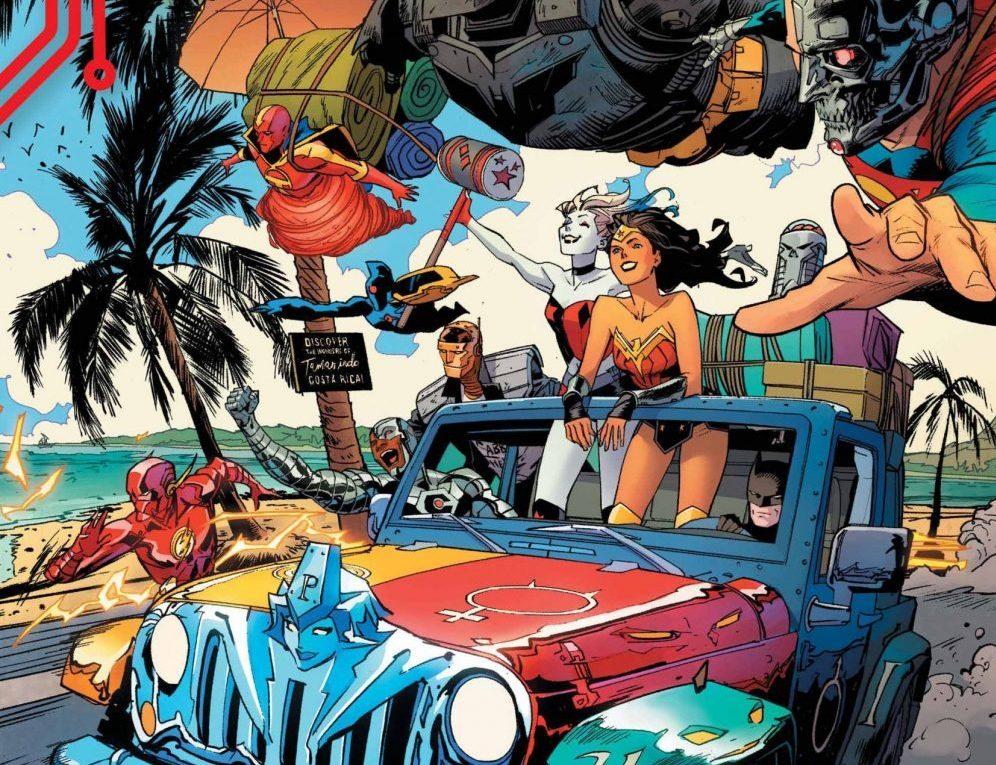 'DC Cybernetic Summer' #1 review