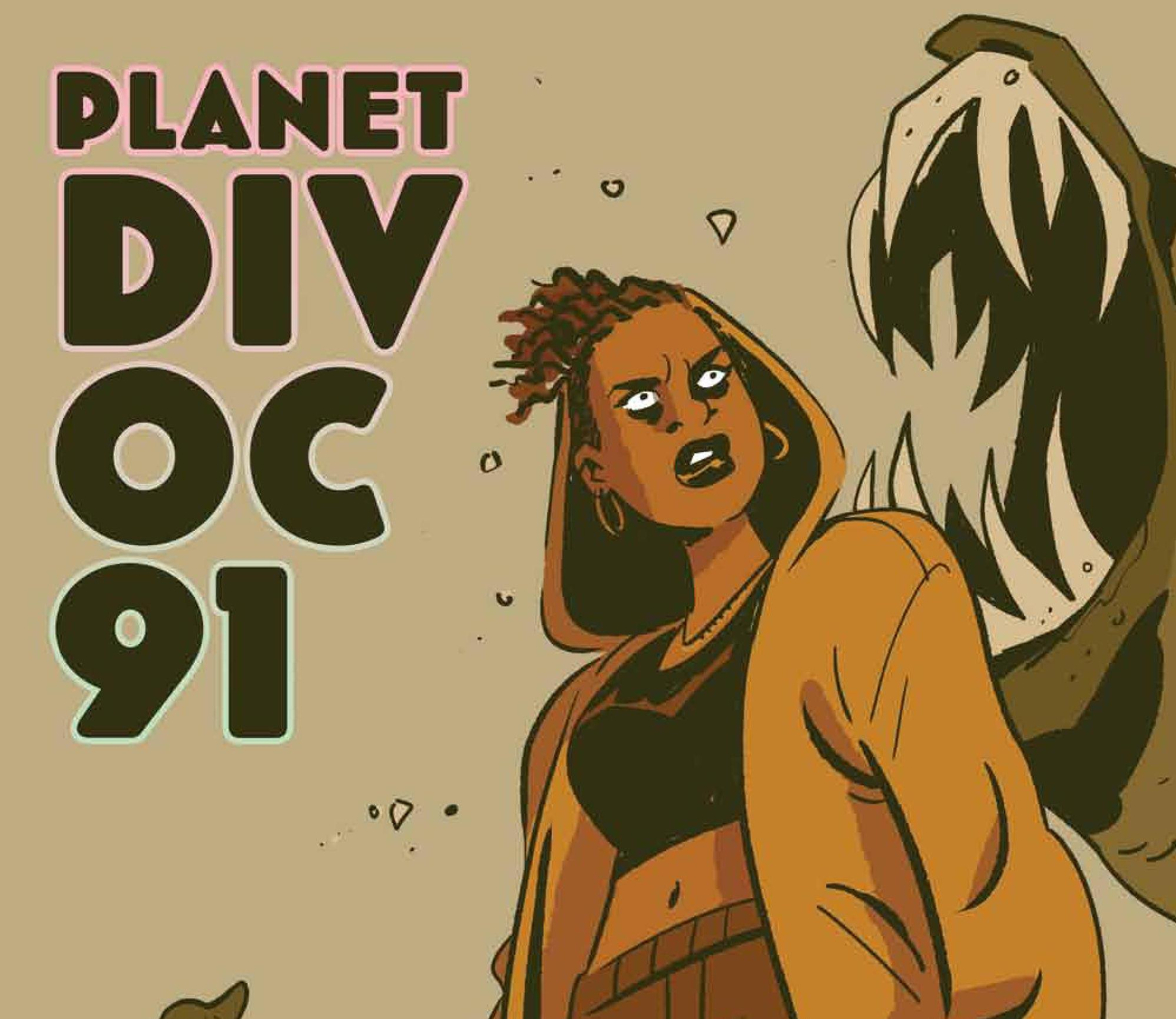 New sci-fi satire webcomic PLANET DIVOC-91 debuts July 15, 2020 on Webtoon