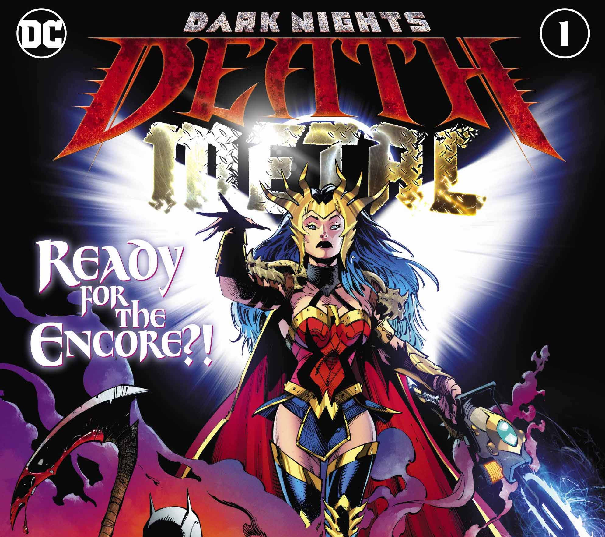 DC Comics announces 'Dark Nights: Death Metal' #1 and 'DCeased: Dead Planet' sell out