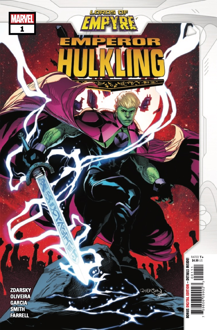 Marvel Preview: Lords Of Empyre: Emperor Hulkling #1