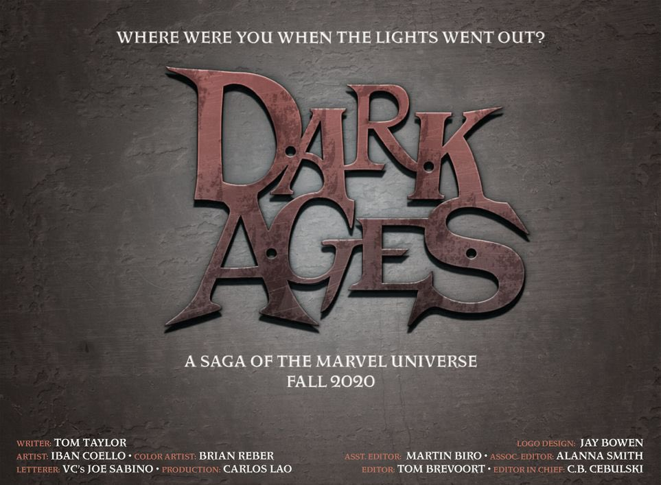 'Dark Ages' Marvel event announced for Fall 2020 in Free Comic Book Day X-Men comic