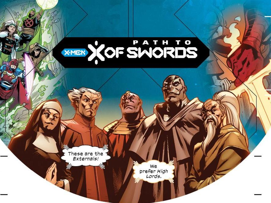 Marvel teases 'X of Swords' with 'The High Lords' in Excalibur #11