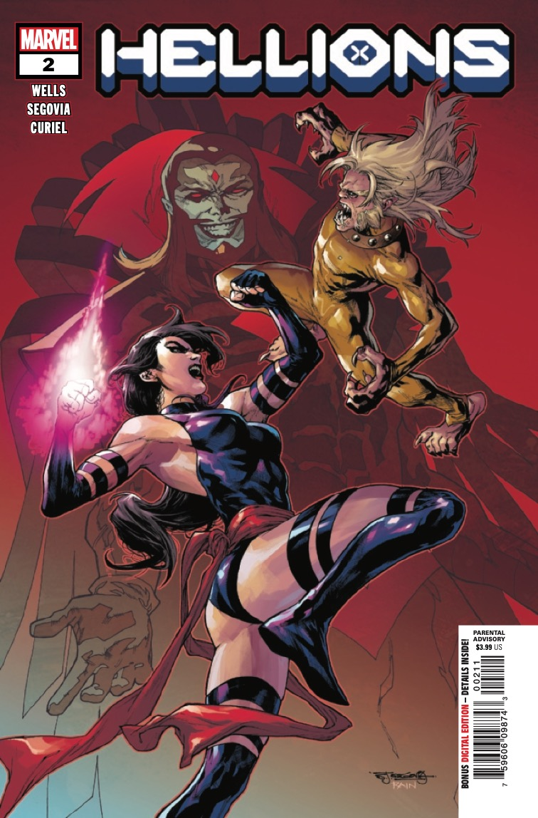 Marvel Preview: Hellions #2