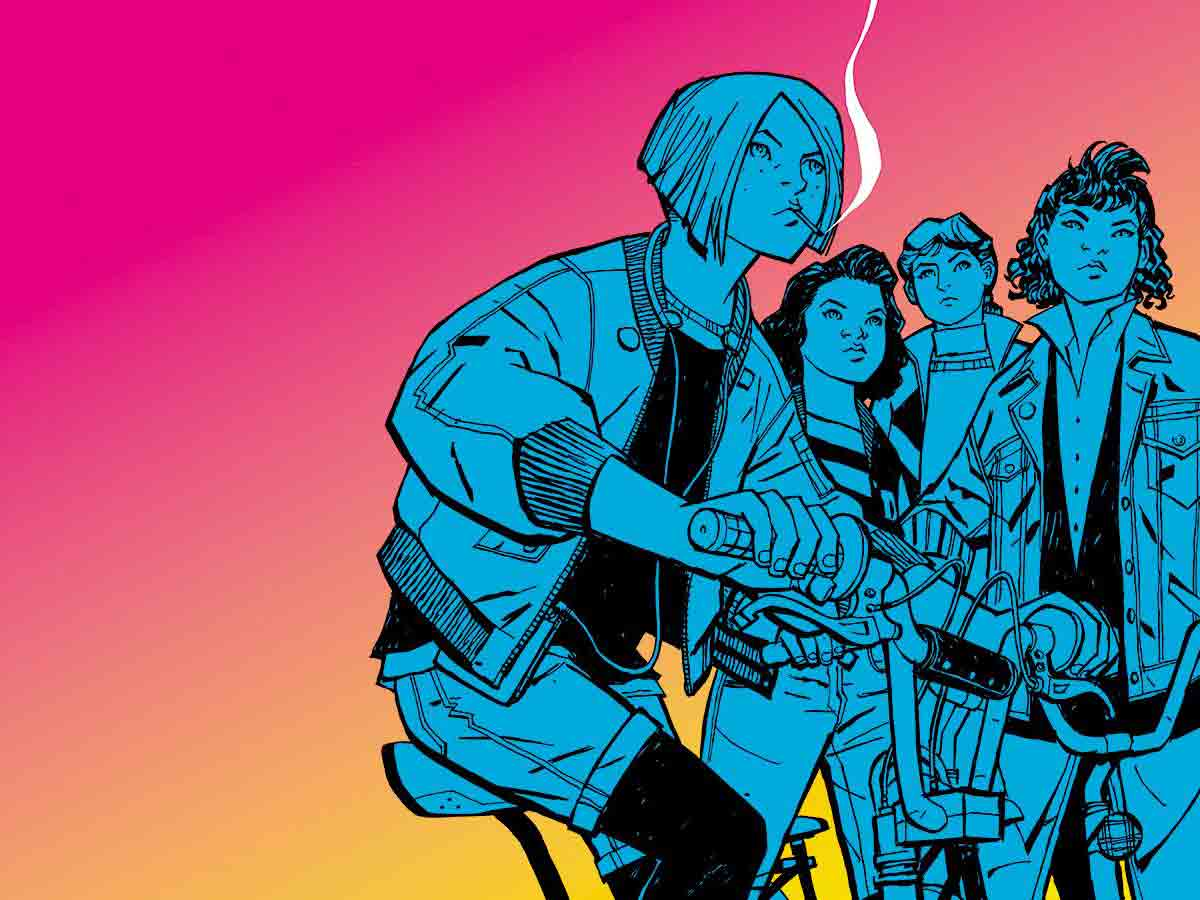 Amazon orders Image Comics' 'Paper Girls' TV series