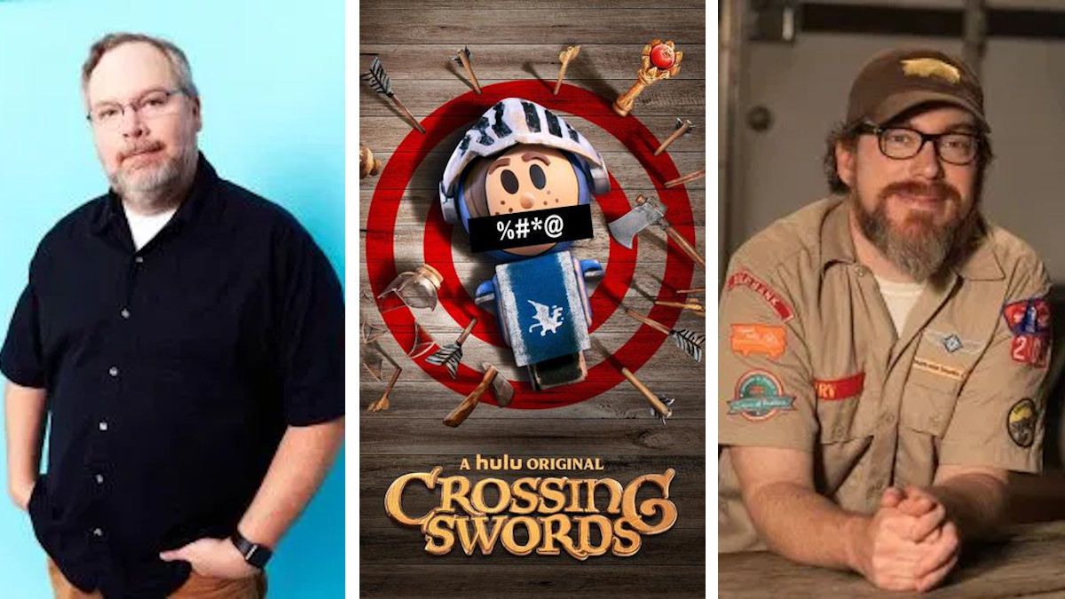 The creators of 'Crossing Swords' discuss the show, season 2, and what they miss about SDCC.