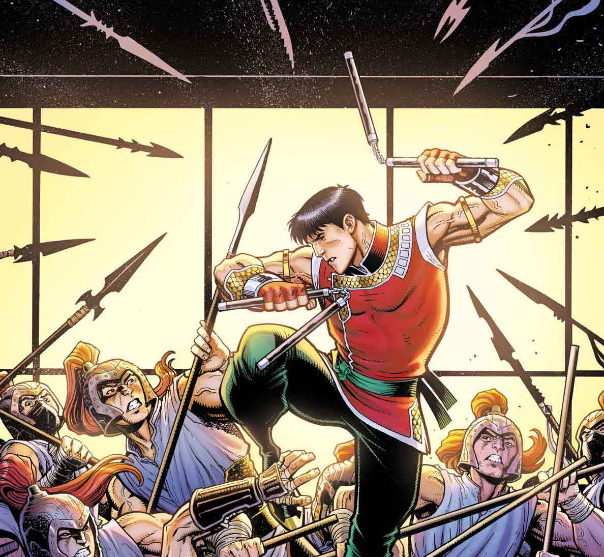 All signs point to Shang-Chi in newly revealed Arthur Adams variant cover