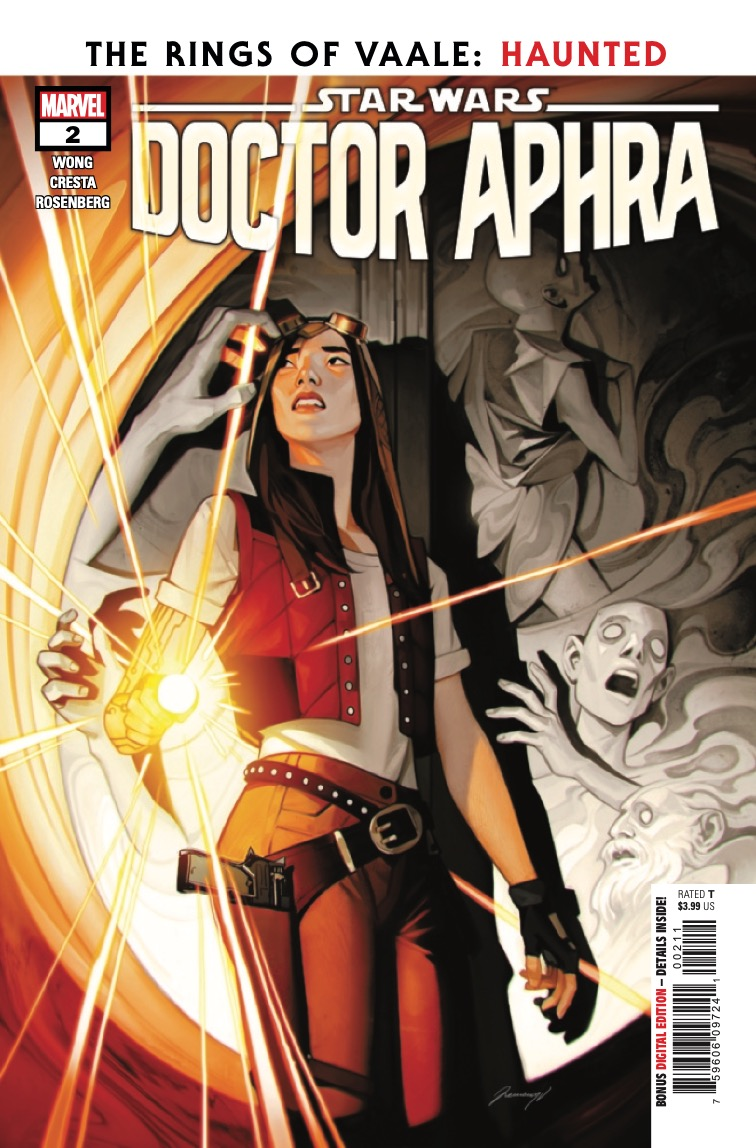 DOCTOR APHRA and her new team have tracked the RINGS OF VAALE to a mysterious planet filled with primordial horror.