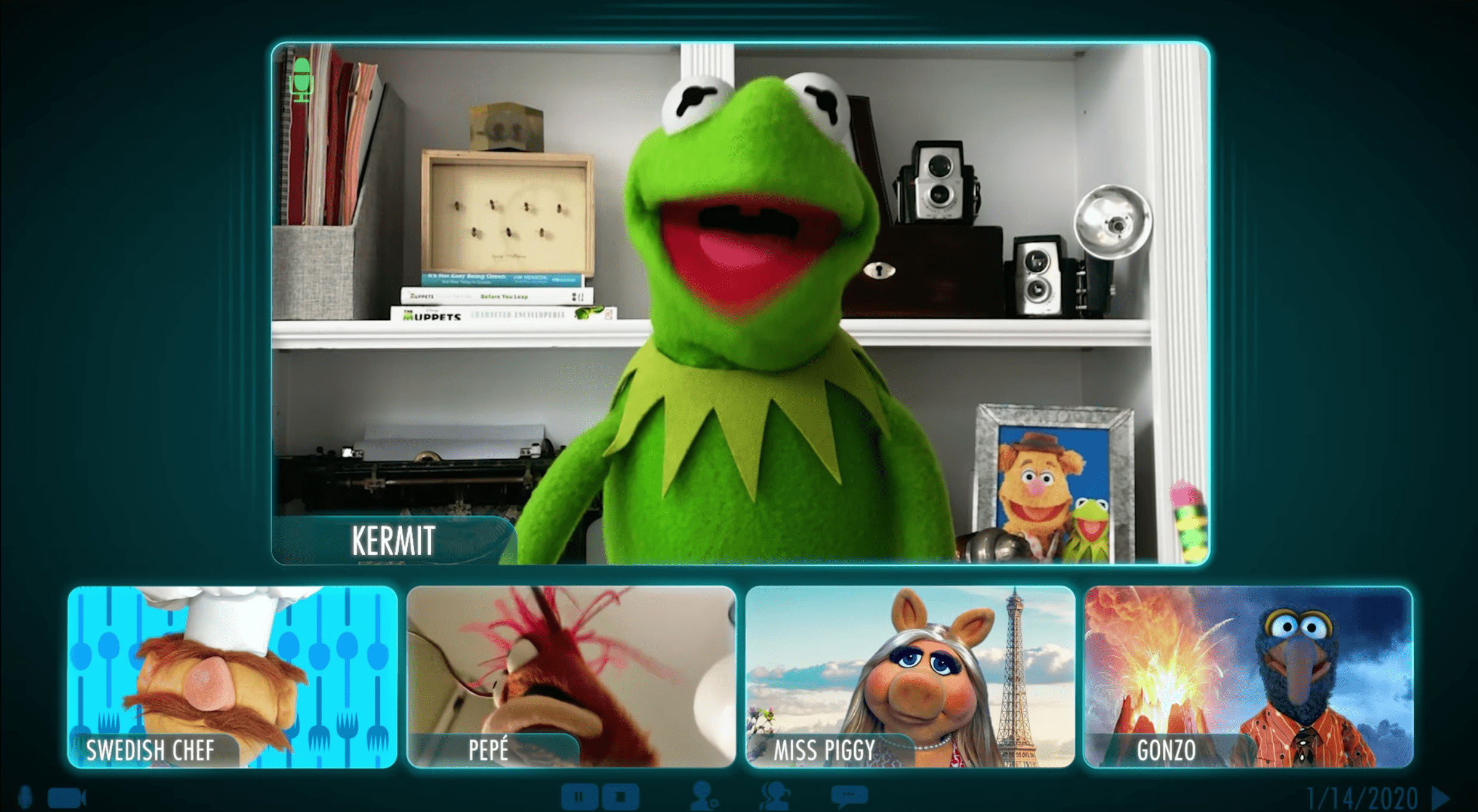 Disney+ goes meta with new 'Muppets Now' trailer and press release