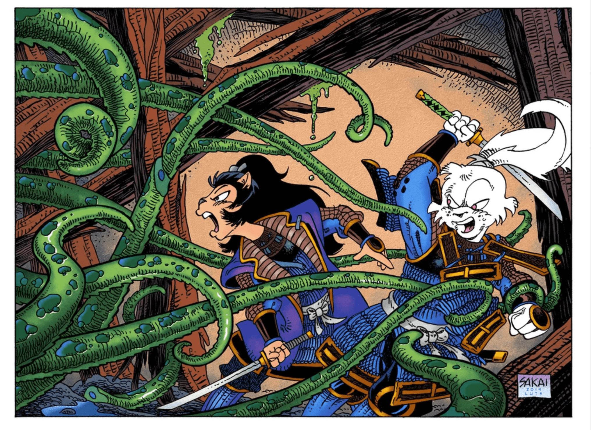 'Usagi Yojimbo' CGI series coming to Netflix with James Wan and Stan Sakai producing