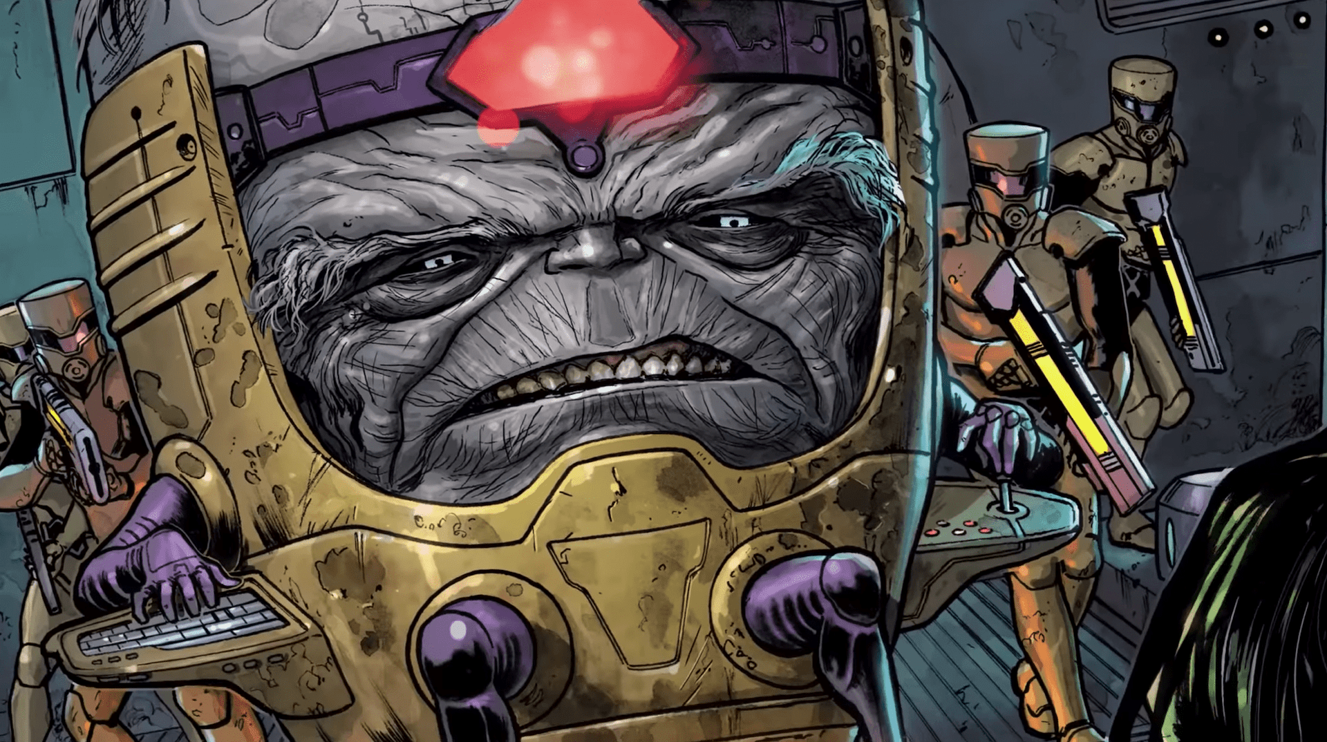 Maestro is striking down on comic shops this August.