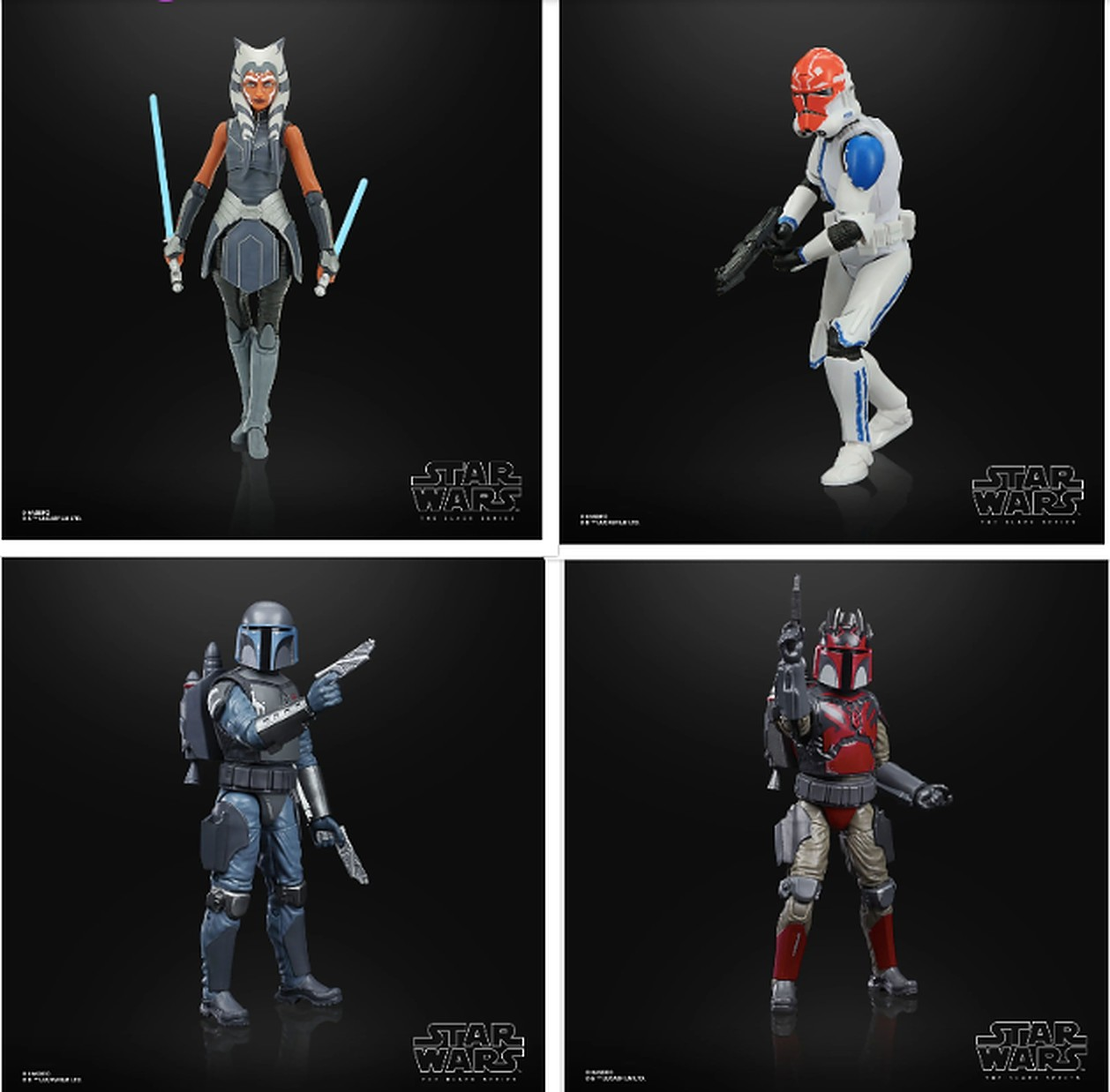 Black Series Clone Wars Season 7