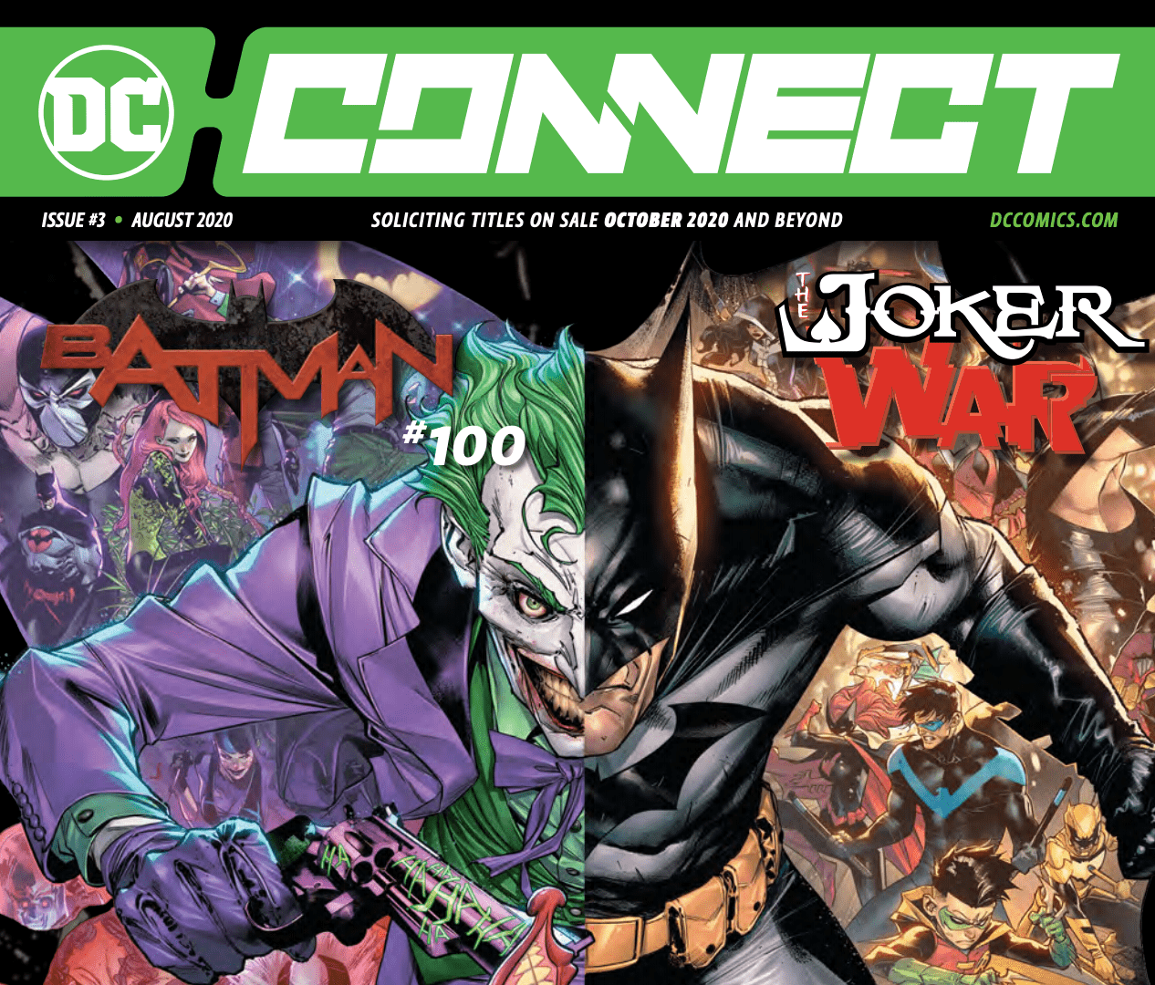 DC Connect #3 offers details on Dark Nights: Death Metal, Rorschach #1, and more!