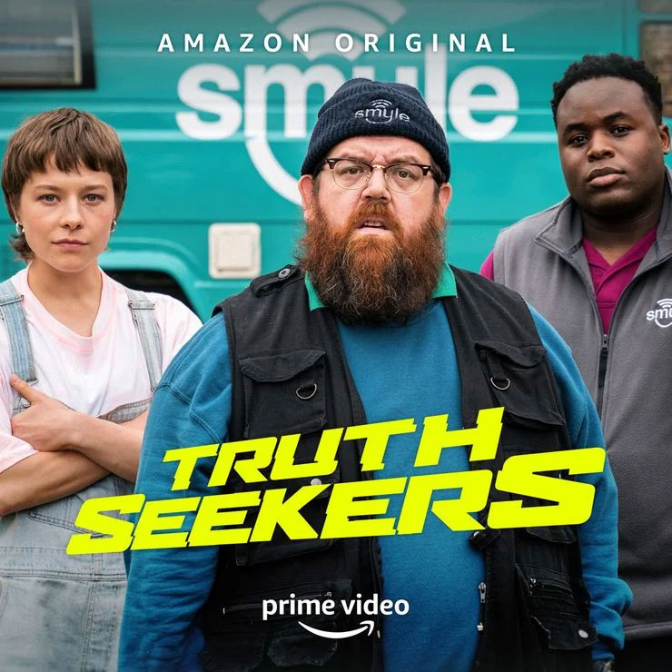Simon Pegg and Nick Frost return to horror-comedy in this show about paranormal investigators.