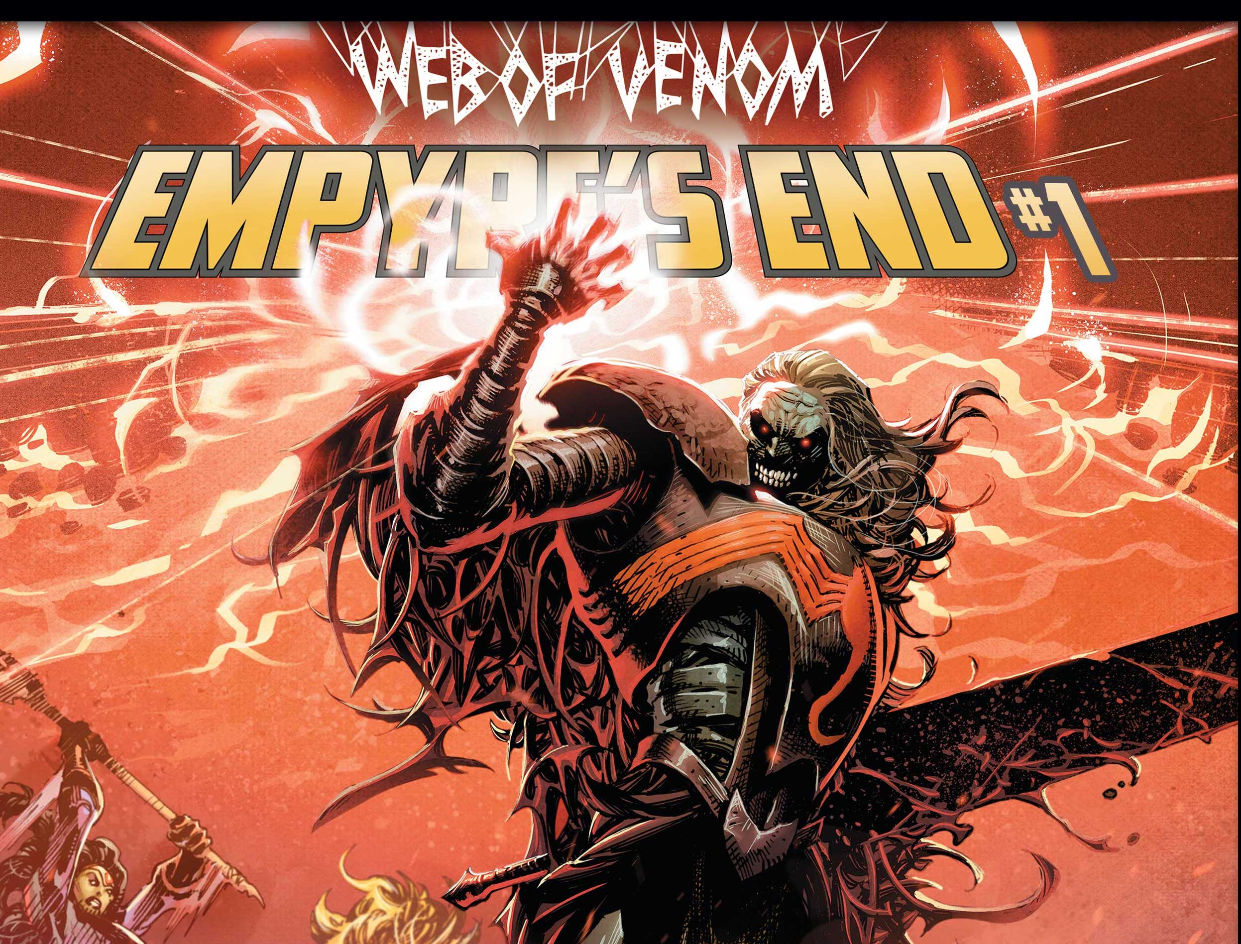 The lead-in to King in Black starts in Web of Venom: Empyre's War #1.