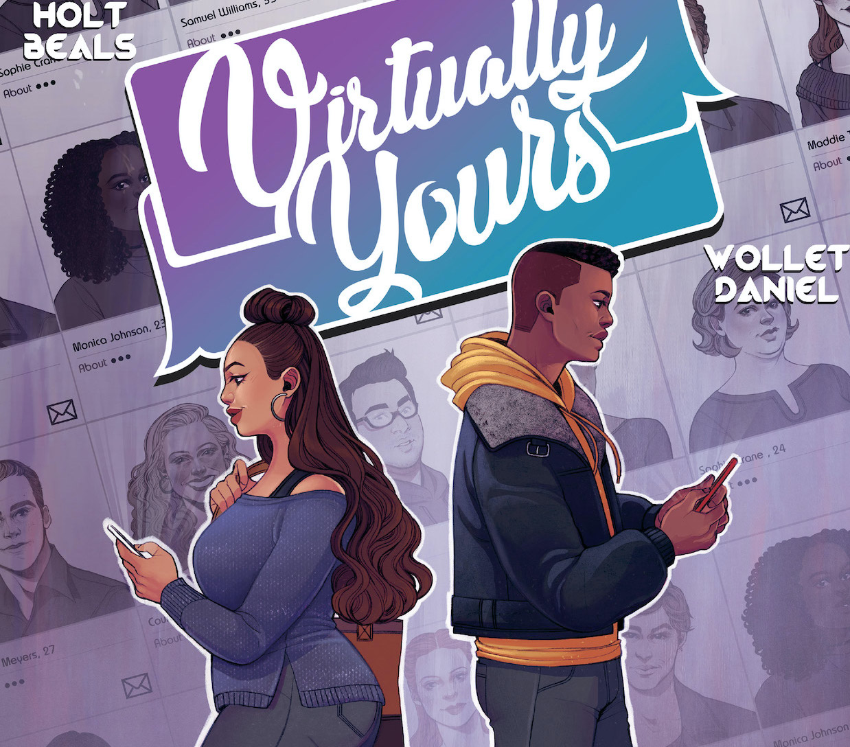 ComiXology Originals announces 'Virtually Yours' dating OGN for July 14th