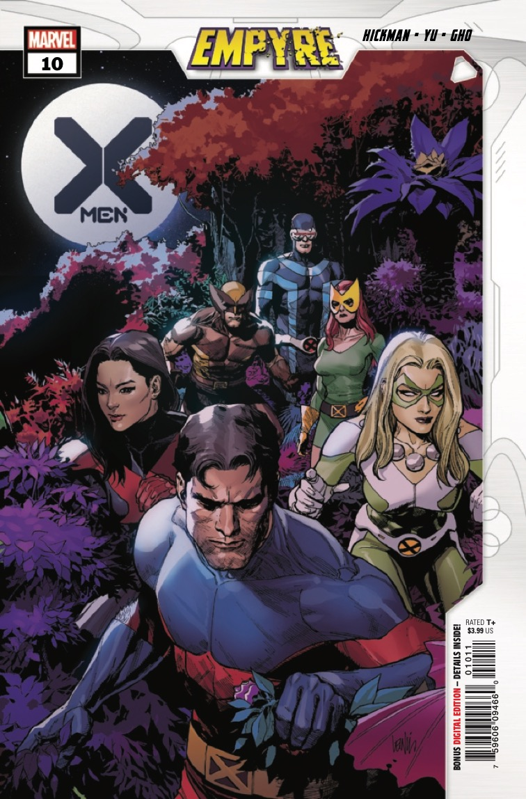 X-Men #10 is an Empyre tie-in issue.