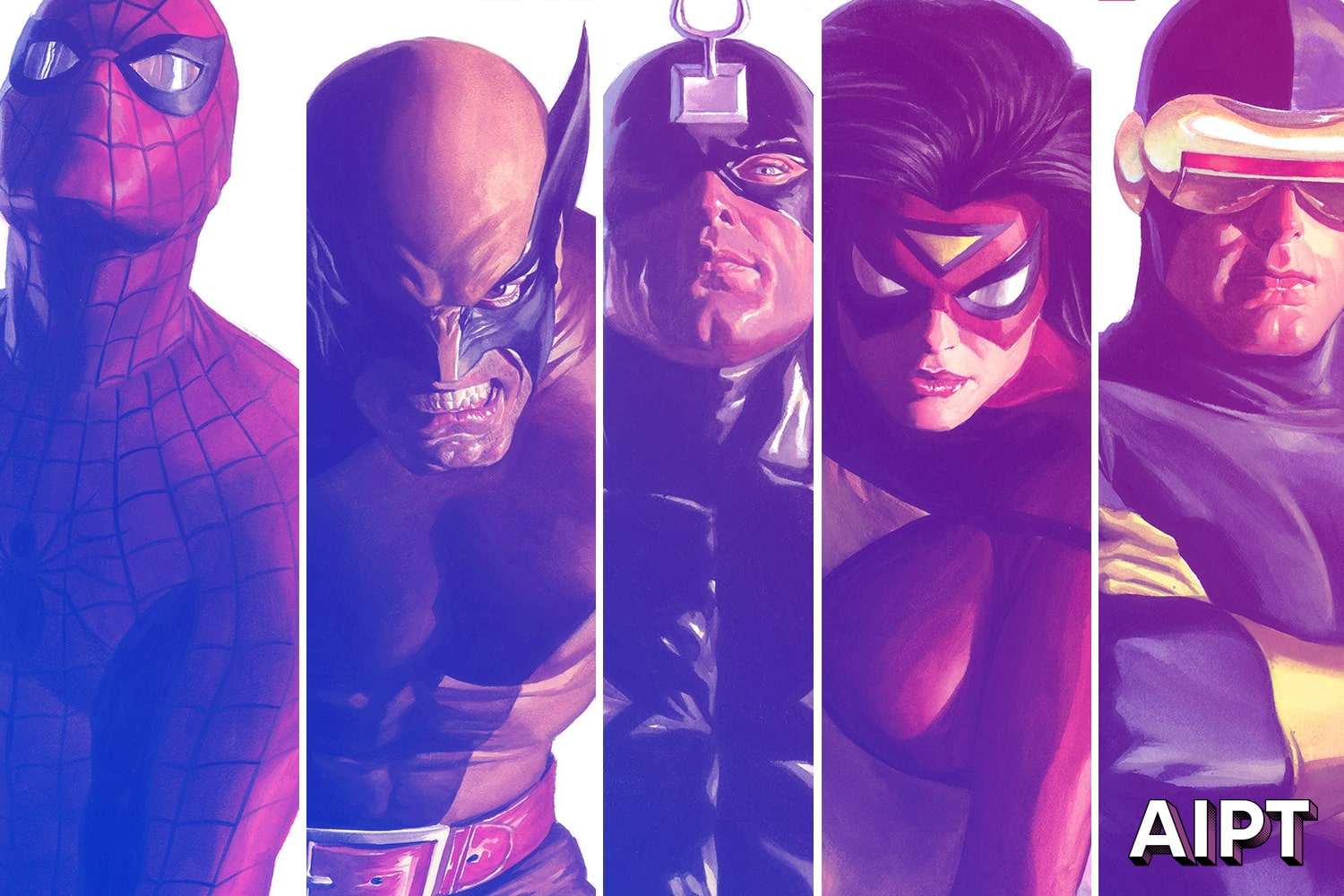 Spider-Man, Thor, Wolverine, and more featured in stunning covers by artist Alex Ross.