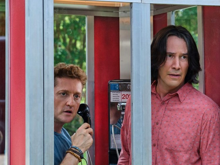 A most excellent look at Bill & Ted's return to the big screen.
