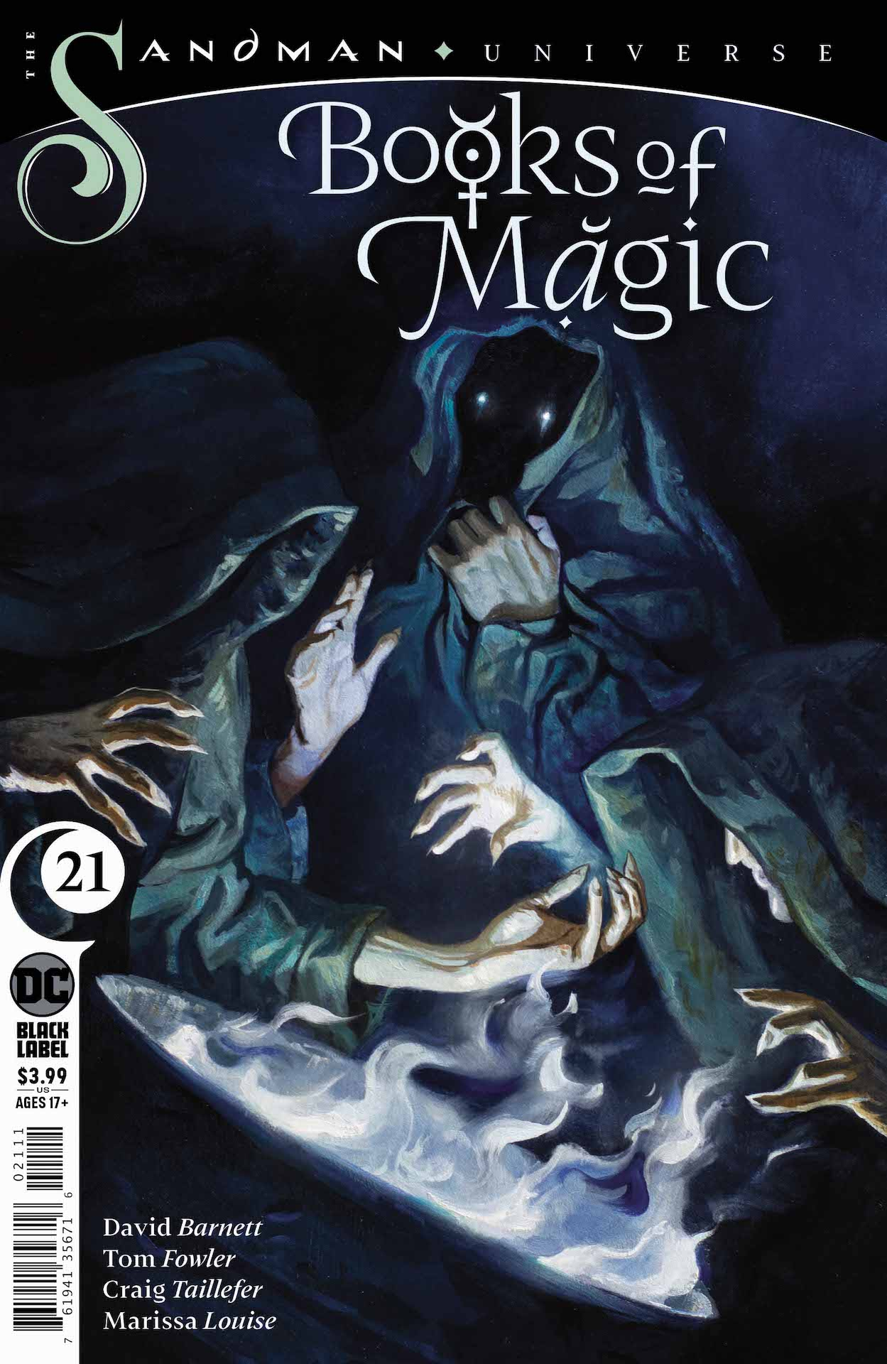 DC Preview: Books of Magic #21