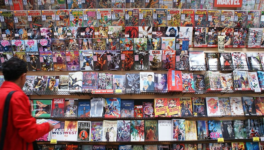 Comic and graphic novel sales reach $1.2 billion in 2019