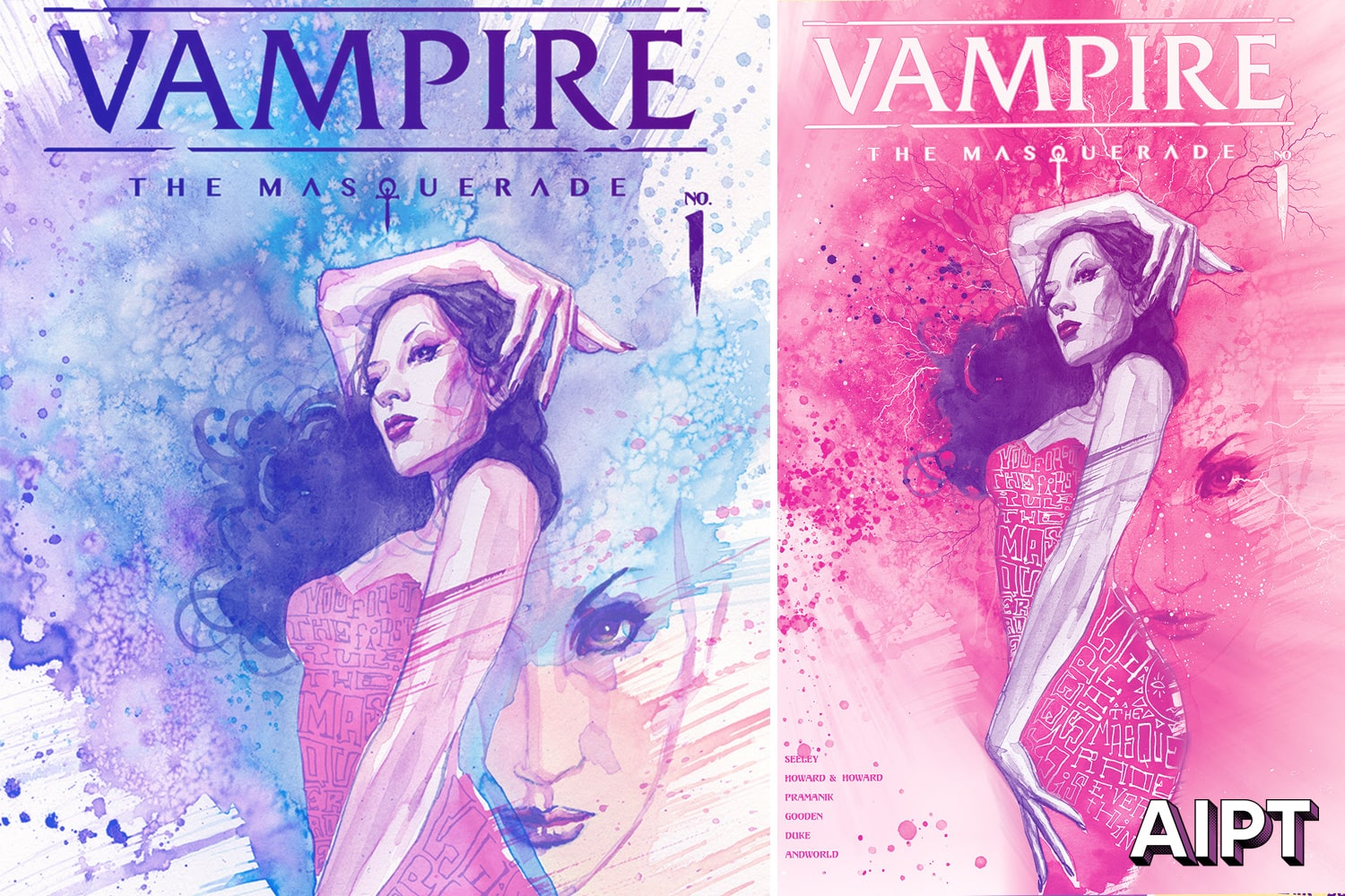 Vault Comics reveals David Mack 'Vampire: The Masquerade' #1 variant covers