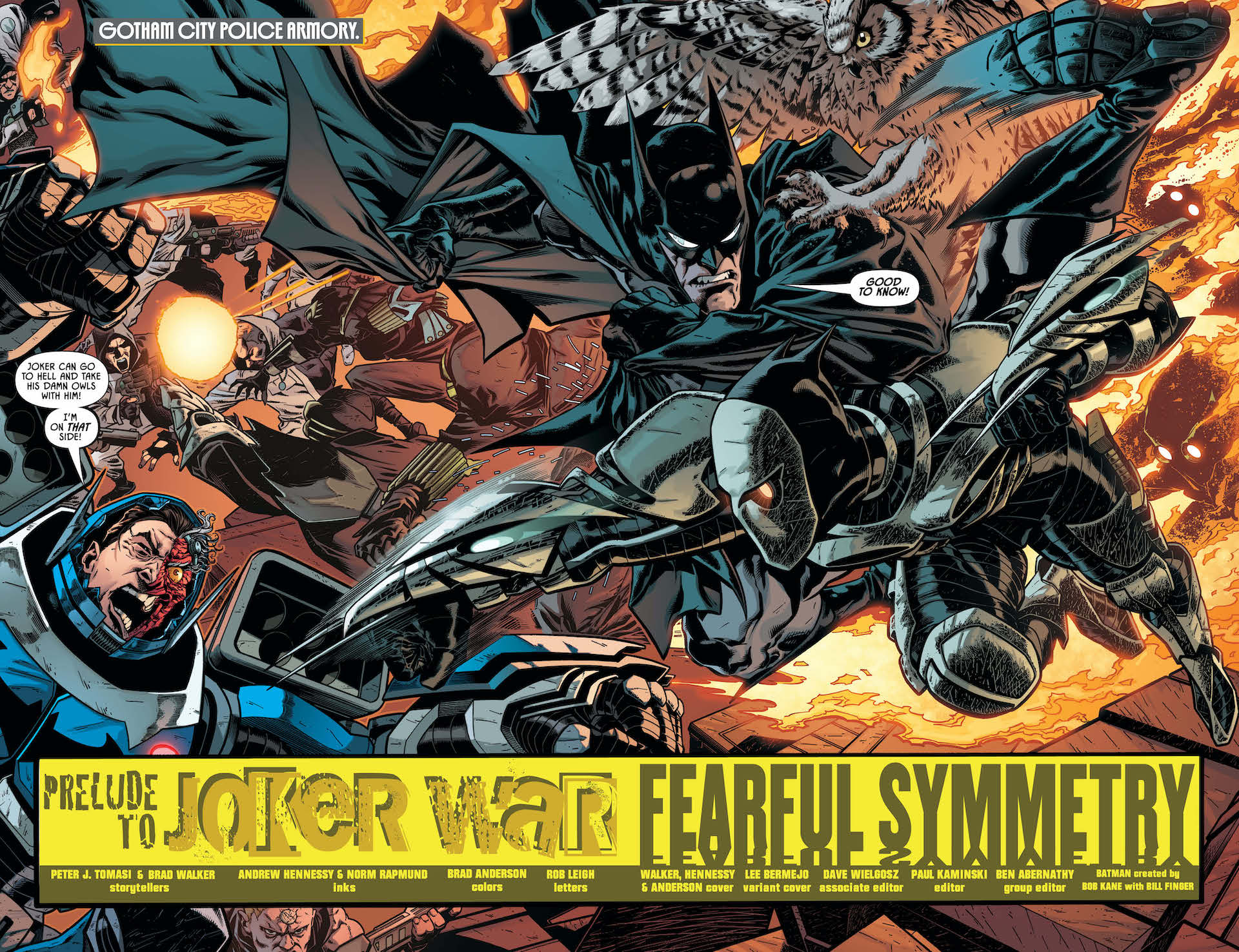 The prelude to Joker War continues in Detective Comics #1024!