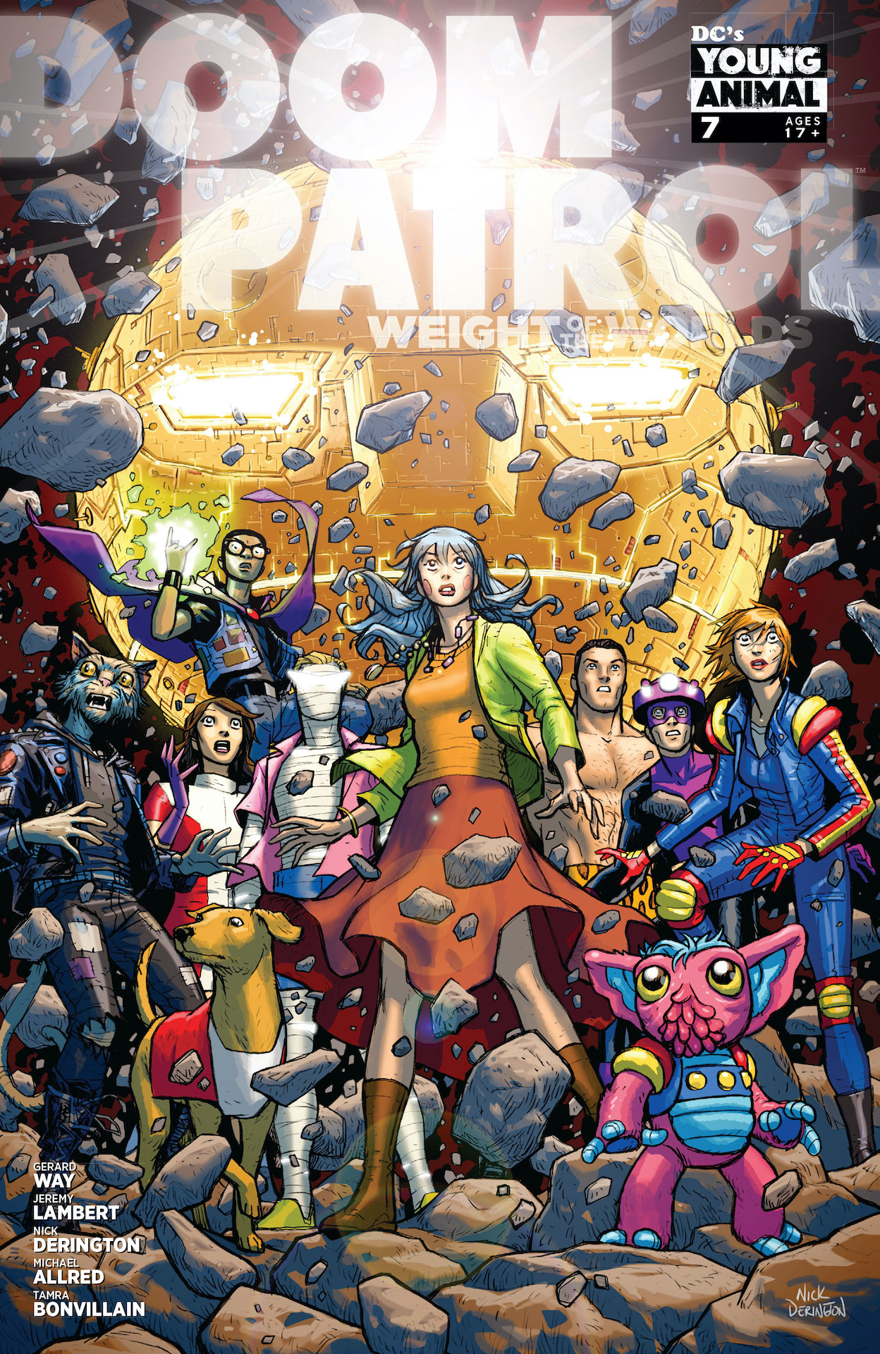 DC Preview: Doom Patrol: Weight of the Worlds #7