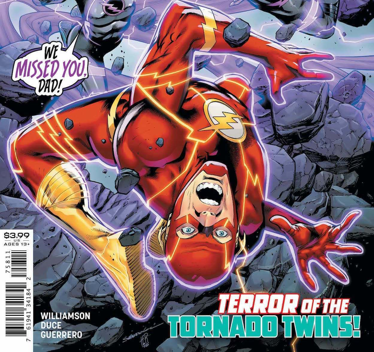 'The Flash' #758 review: Flash can't save the city and his family!