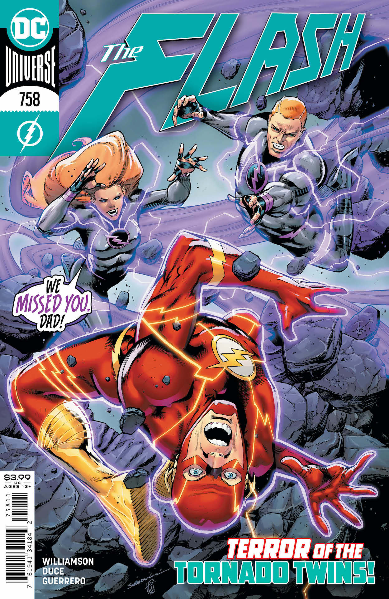 "In The Flash #758, it's ""Legion of Zoom"" part two!"