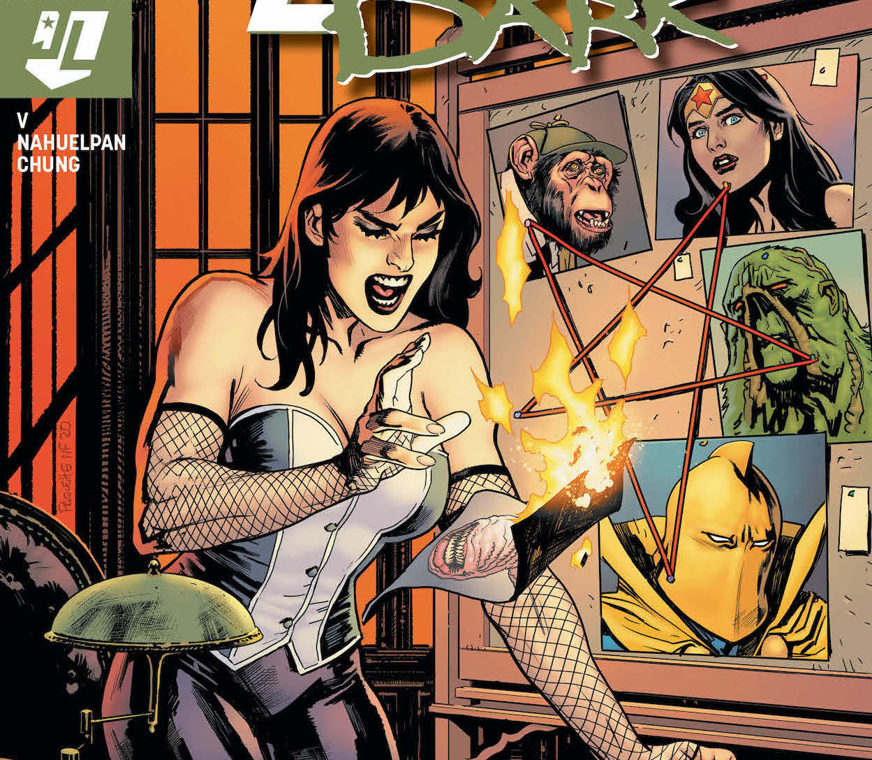 Wonder Woman and Bobo check in on the Justice League Dark.
