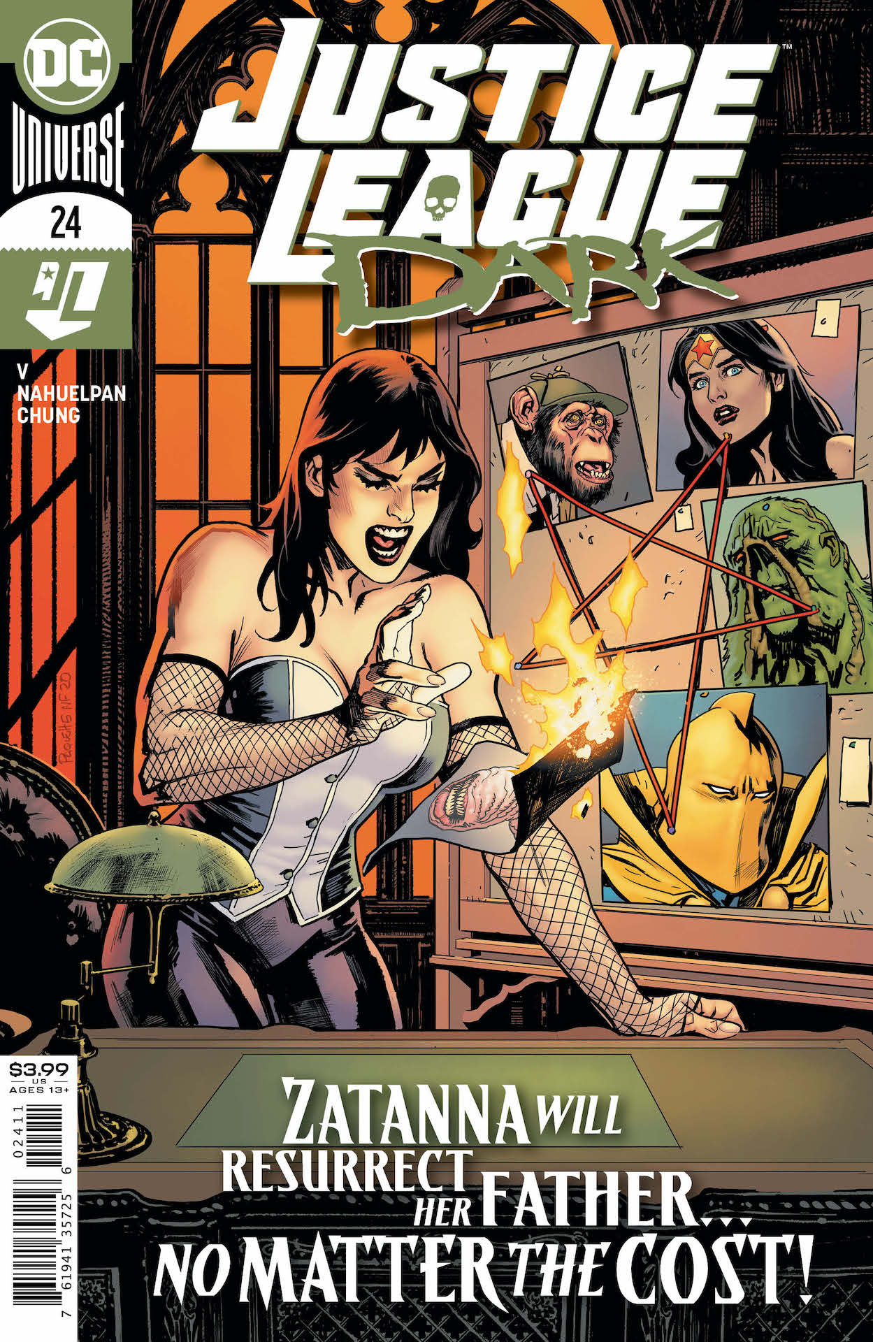 At last, Justice League Dark's mission reaches the moment fans have been waiting for: their descent into the Other Place...