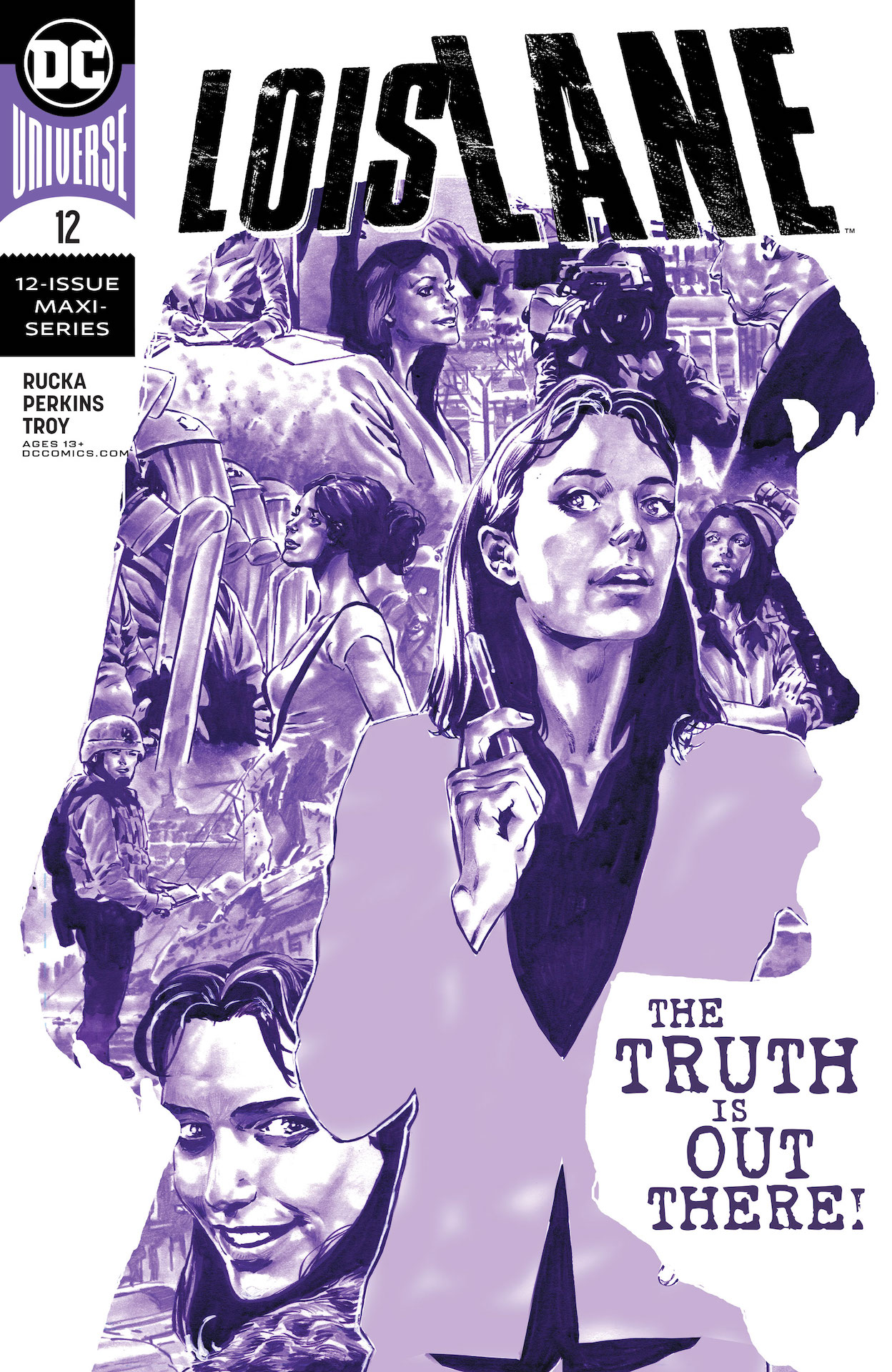 Lois Lane finds herself with the power to change-or destroy-the lives of everyone involved.