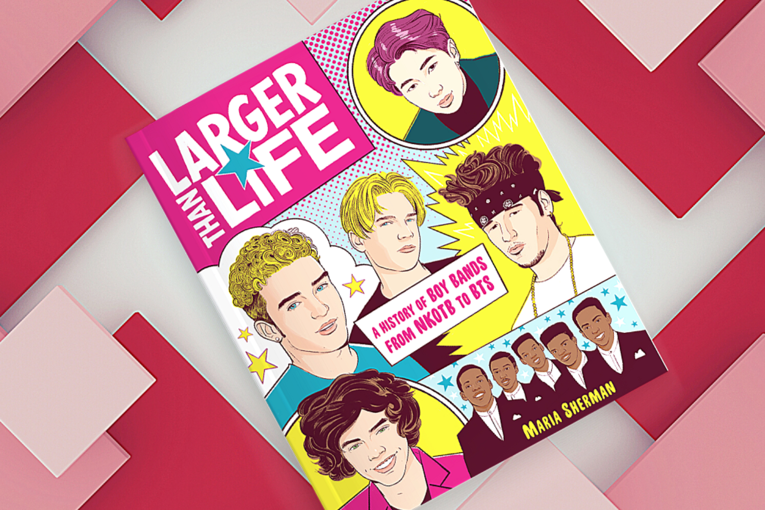 The new book serves as a near-definitive text on the world of male-oriented pop.