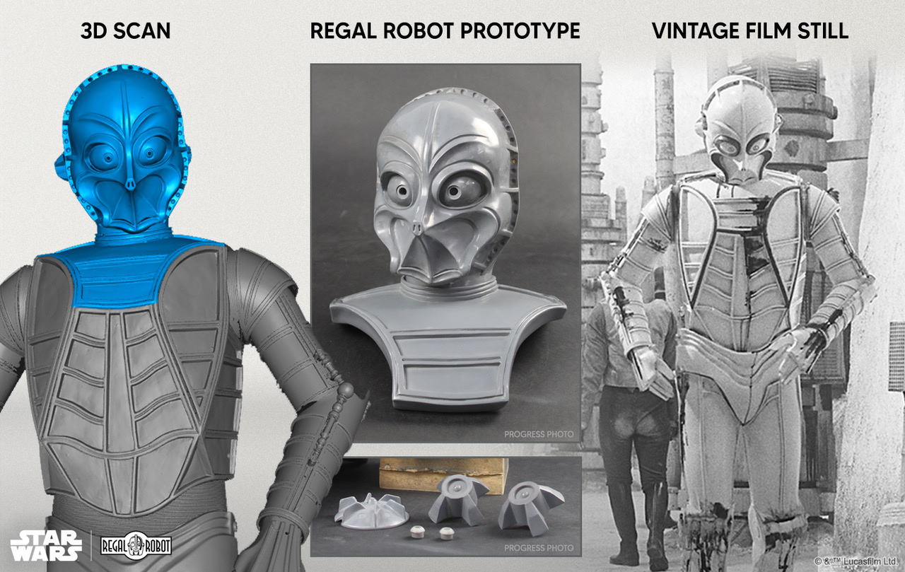 Regal Robot's new CZ-3 Bust is available to order!