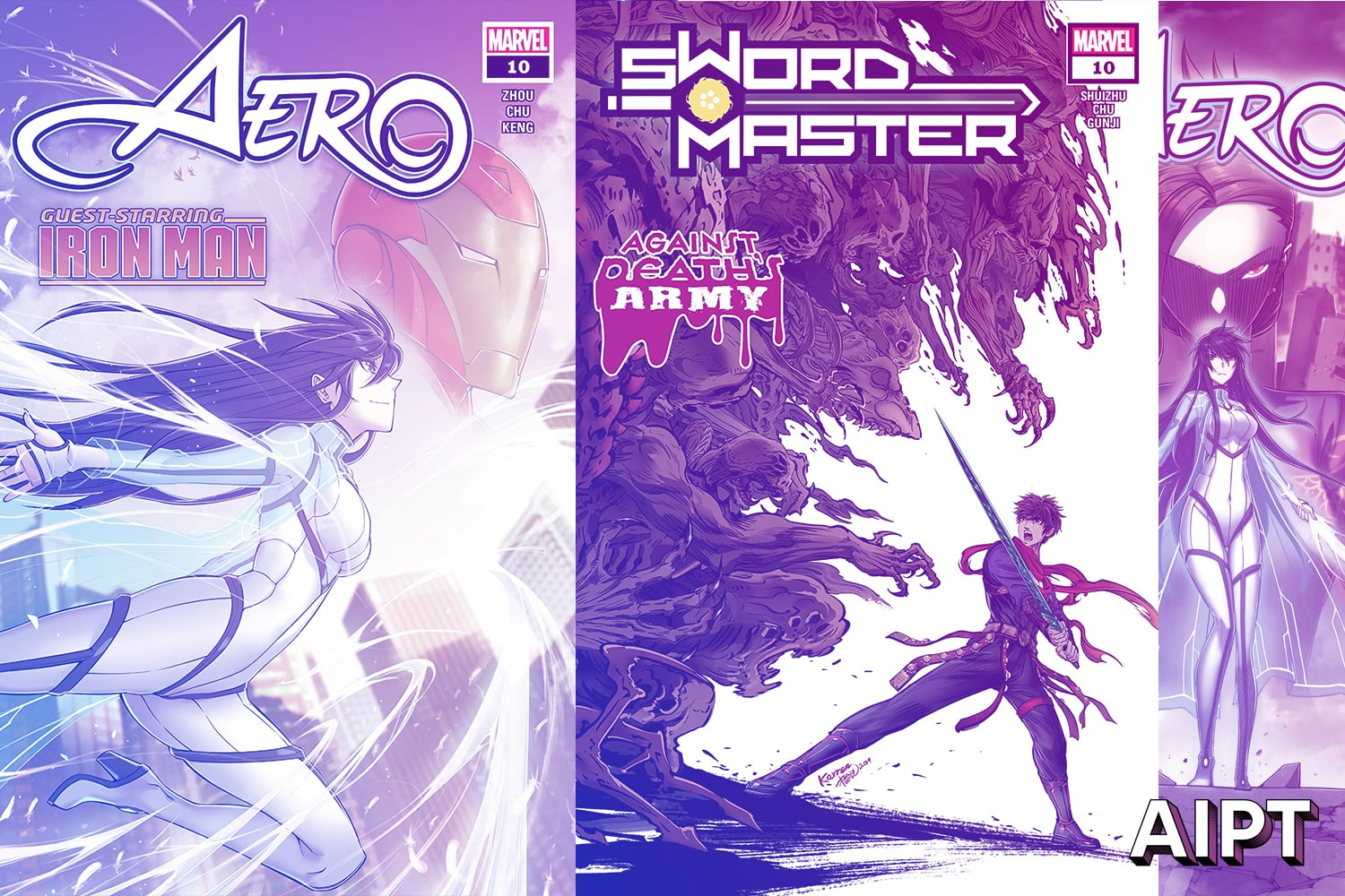 Marvel announces 'Aero' and 'Sword Master' to return August 2020