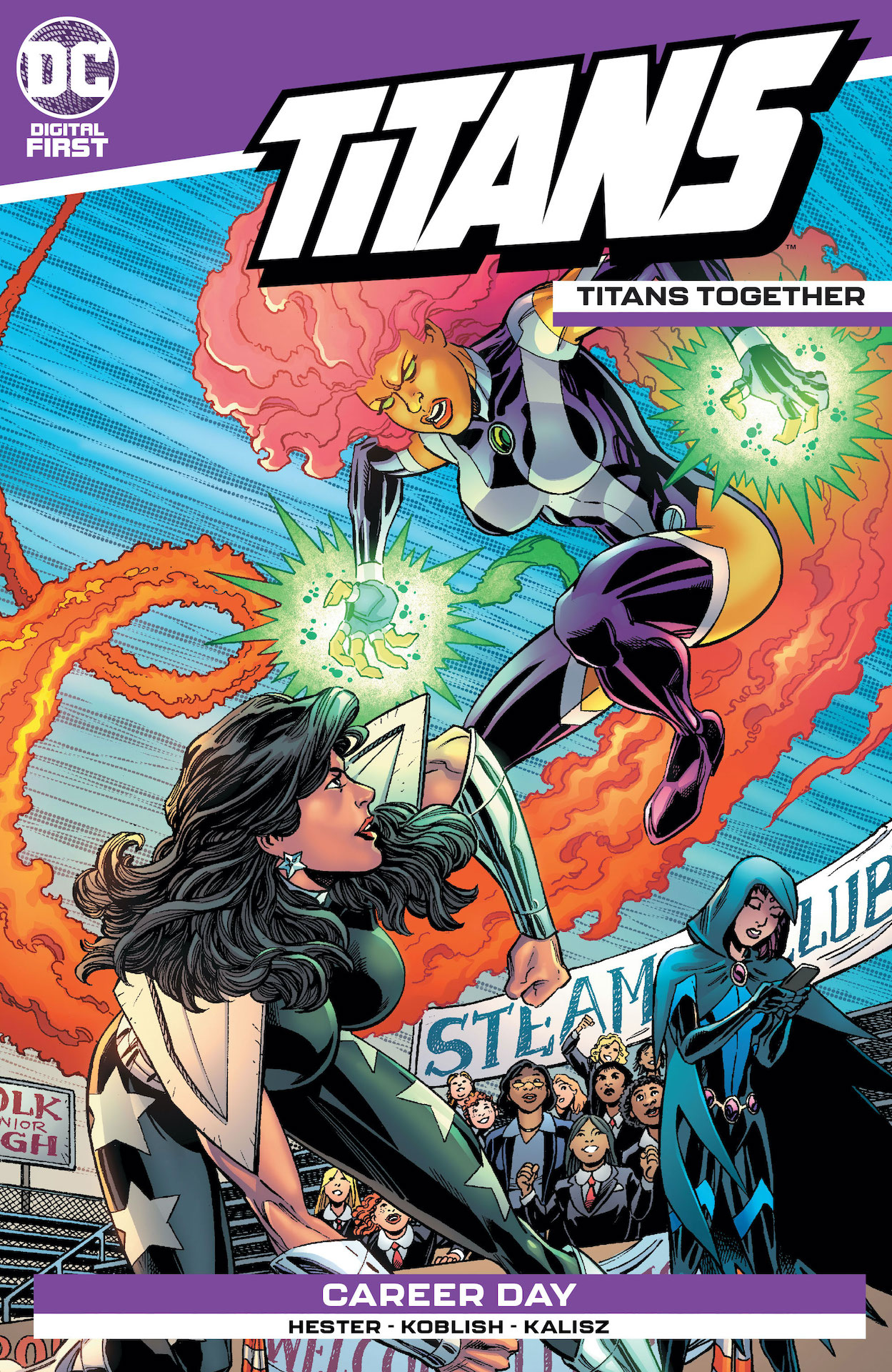 DC Preview: Titans: Titans Together #4