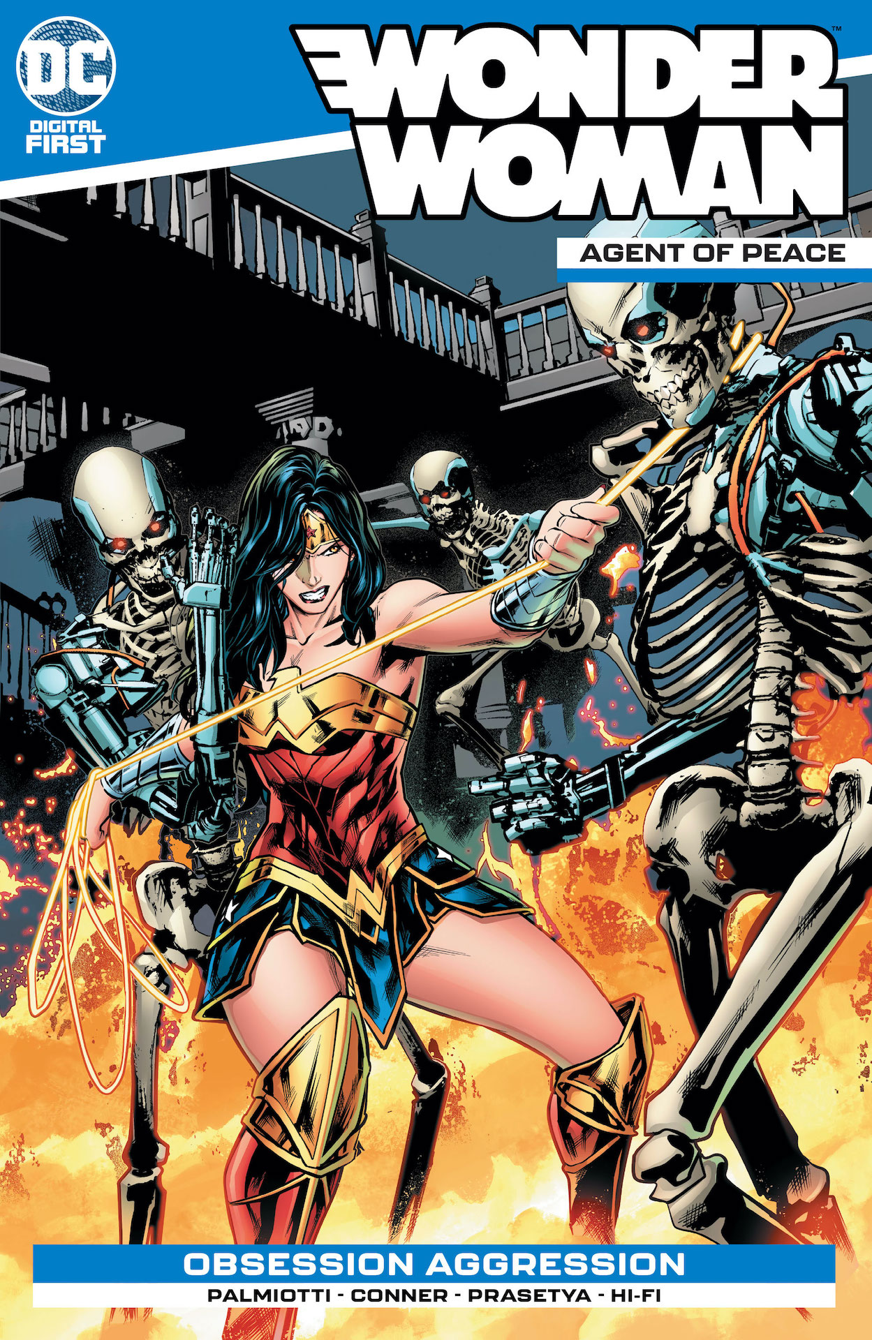 Wonder Woman's been ambushed! Who's done this and can Wonder Woman survive the onslaught?